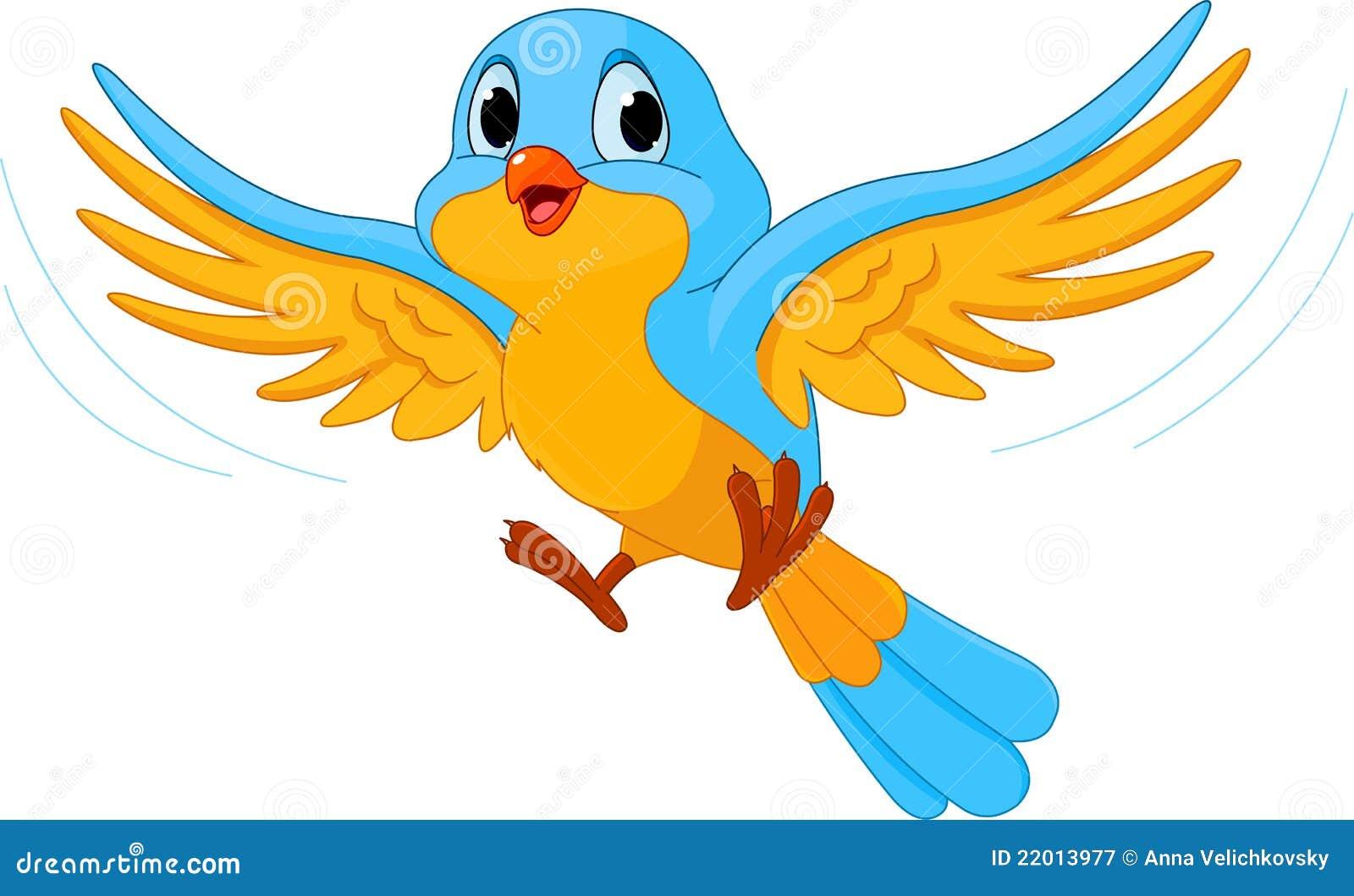 Uccello di volo