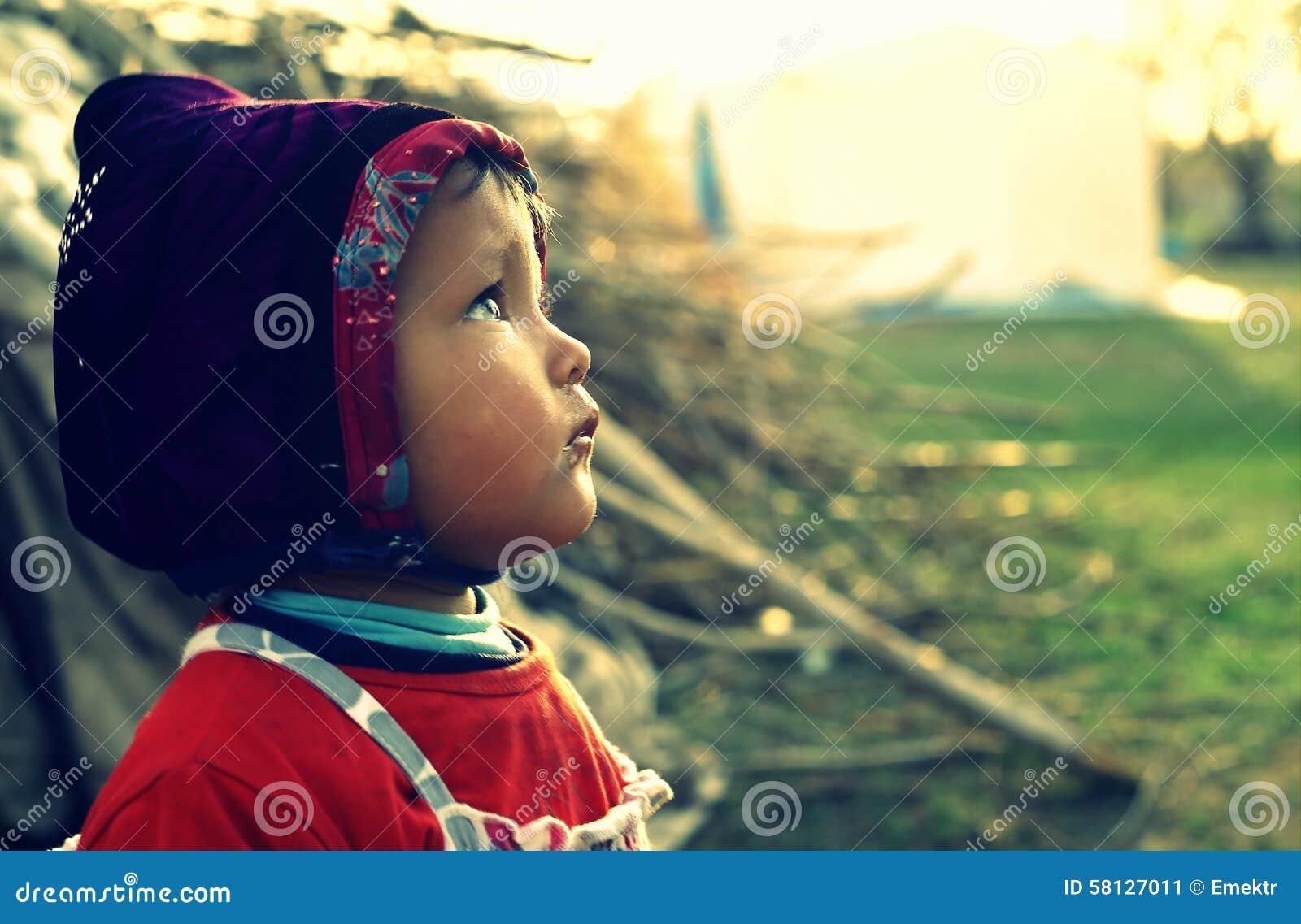 Uchodźcy dzieciak