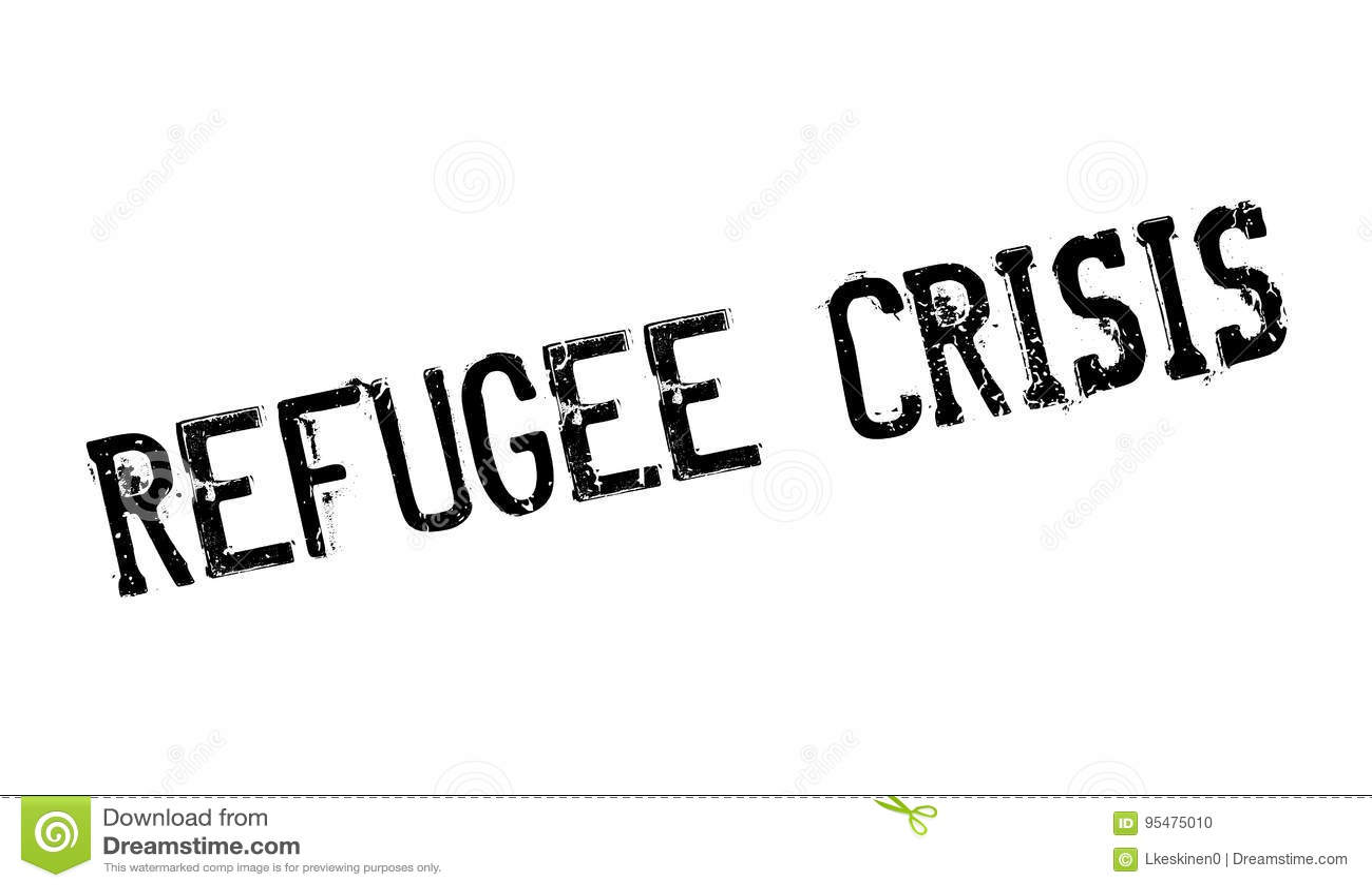 Uchodźcy kryzysu pieczątka