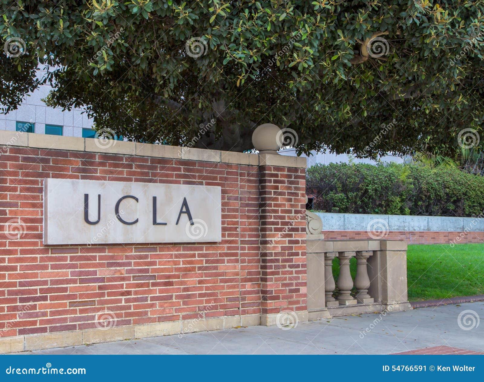 Ucla-Campus-Eingangs-Zeichen