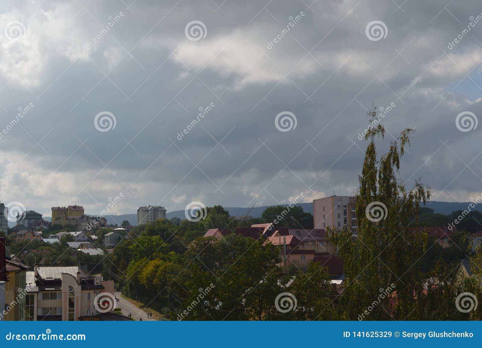Ucrânia ocidental A cidade maravilhosa de Truskavets