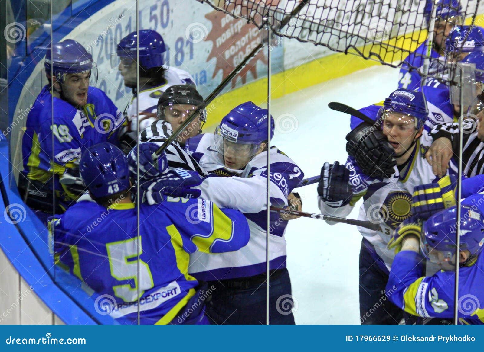 Ucrania contra Kazakhstan