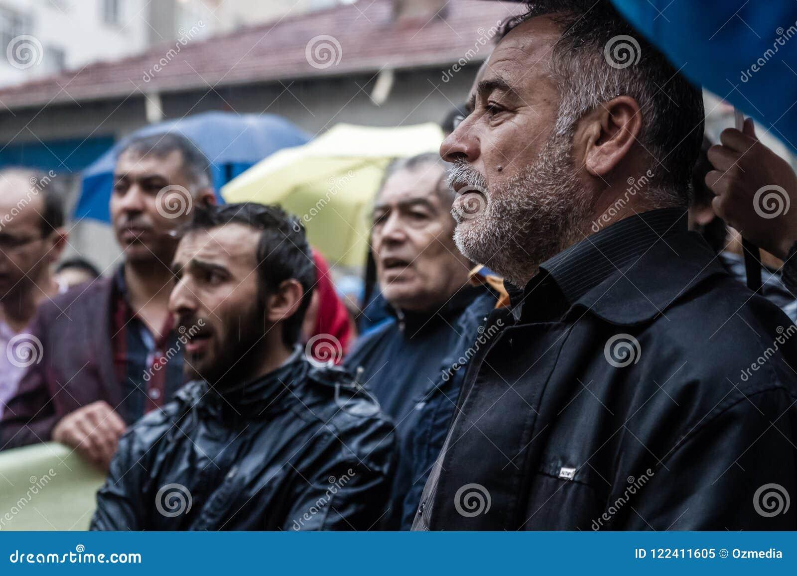 Uczczenie na rocznicie Ali Ismail Korkmaz ` s śmierć