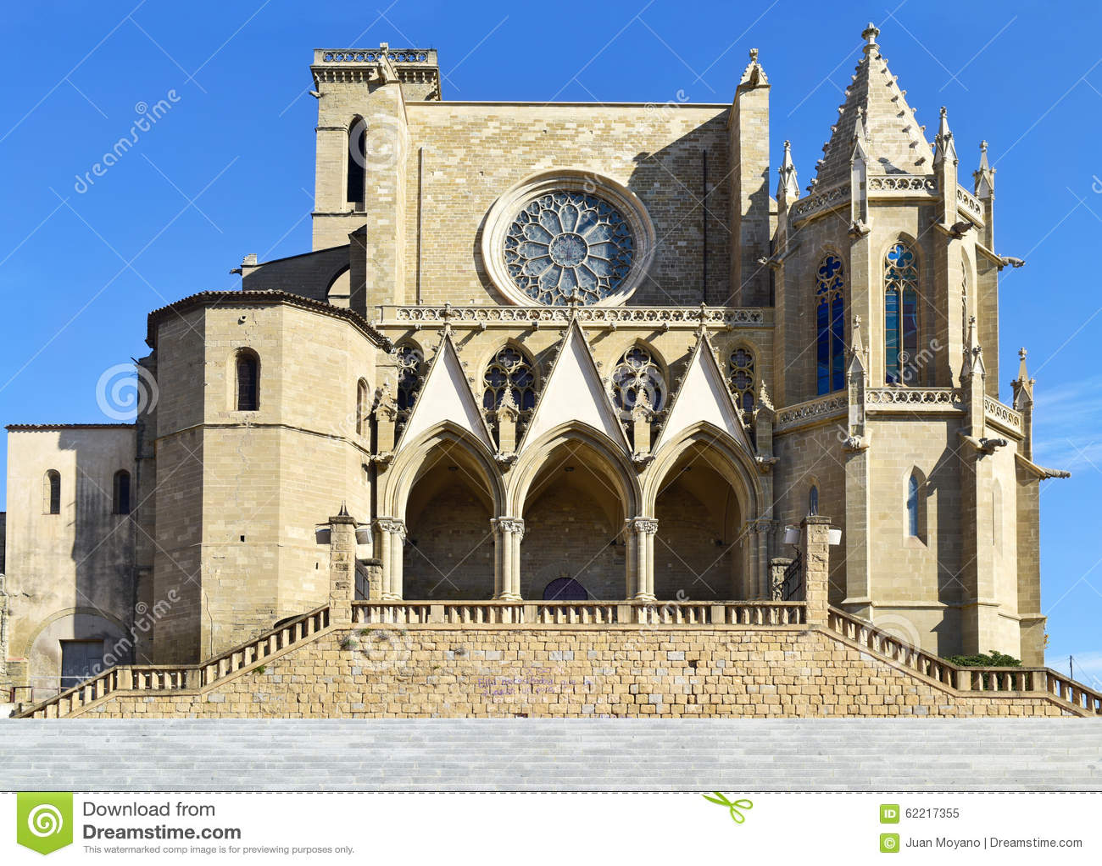 Uczelniana bazylika Santa Maria w Manresa, Hiszpania