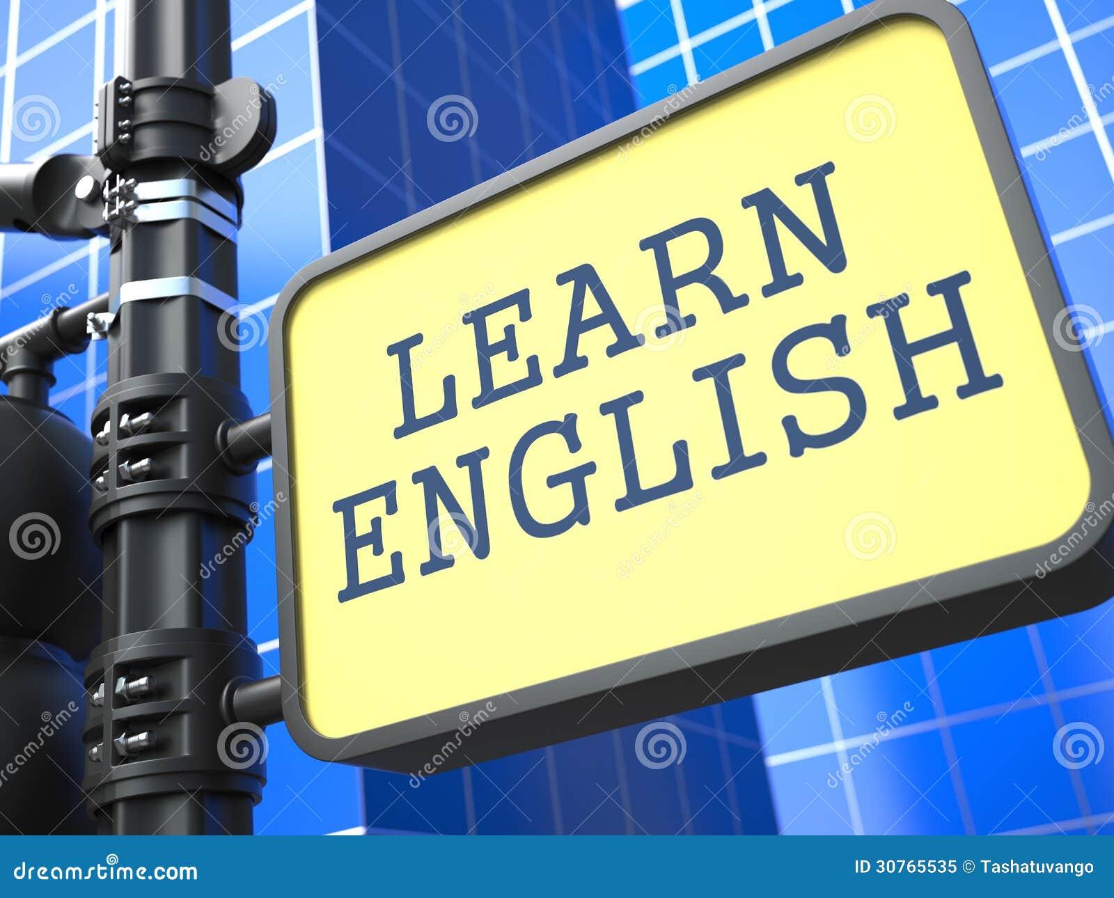 Uczenie język - Angielski pojęcie.