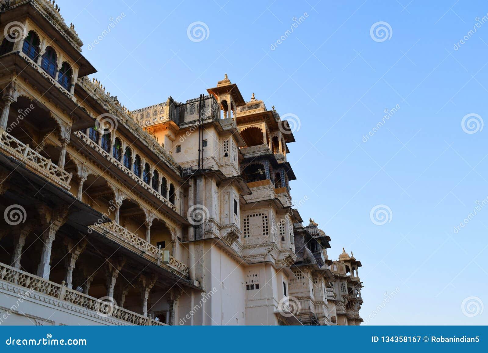 Udaipur miasta pa?ac Rajasthan ind