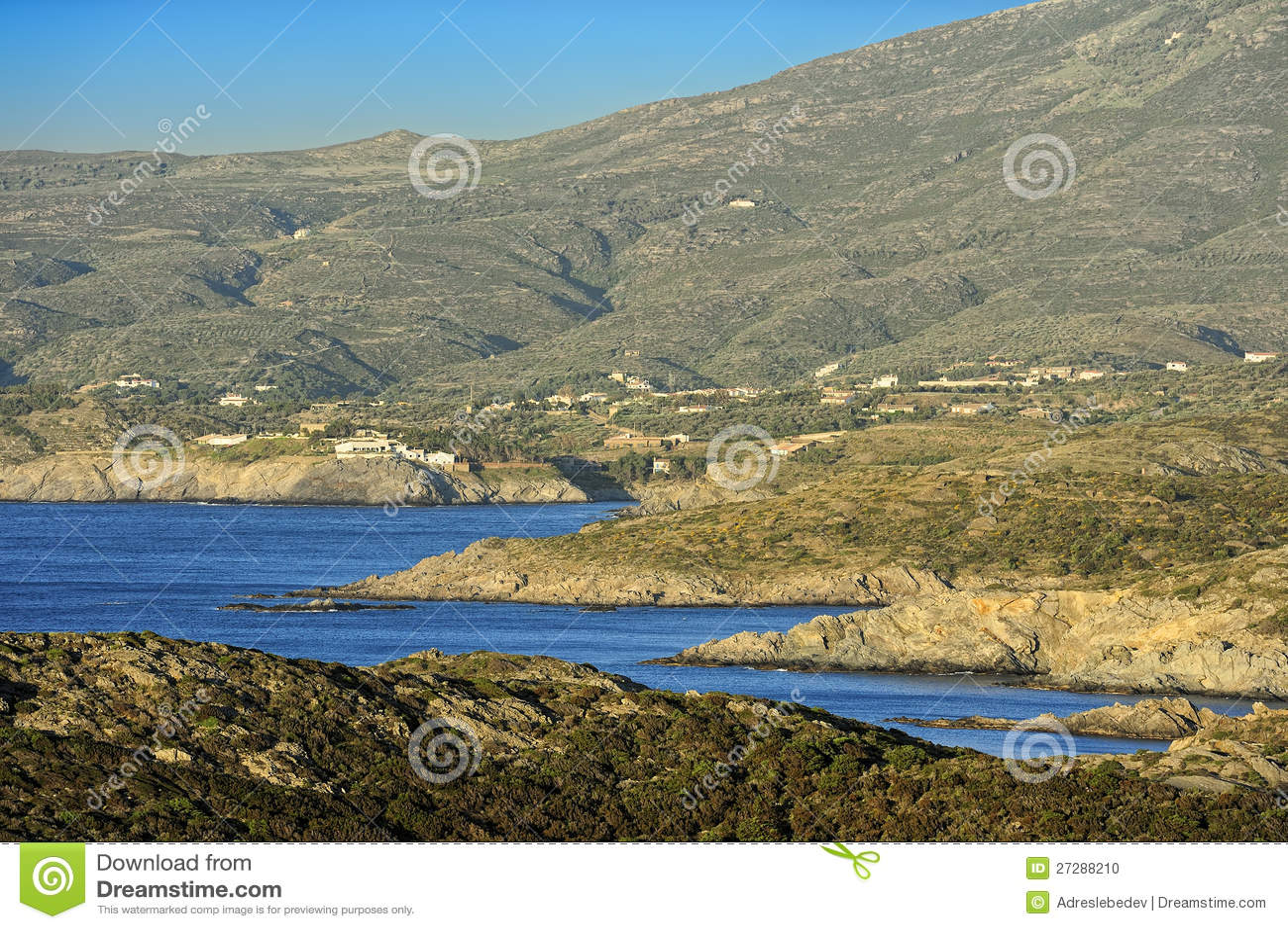Udd Creus (costaen Brava, Catalonia, Spanien)