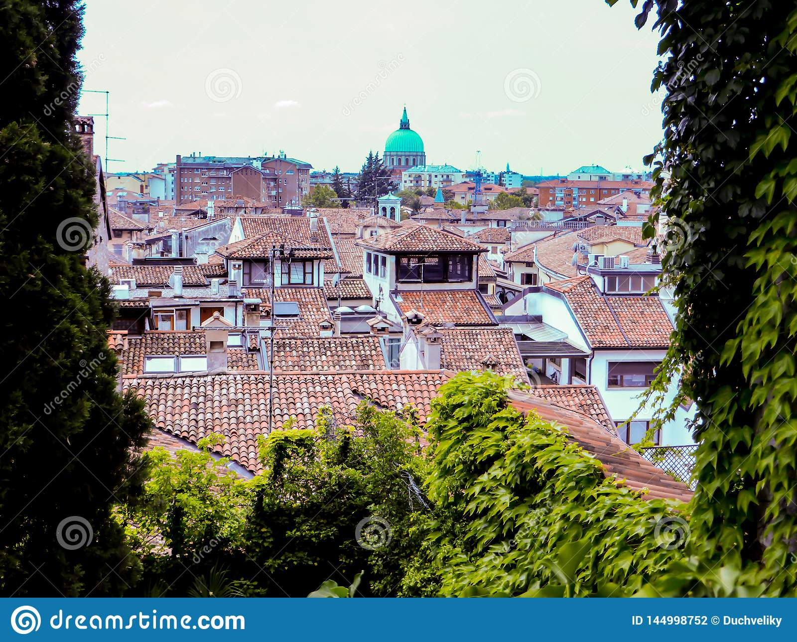 Udine Ιταλία - όμορφη φωτογραφία της πόλης Udine