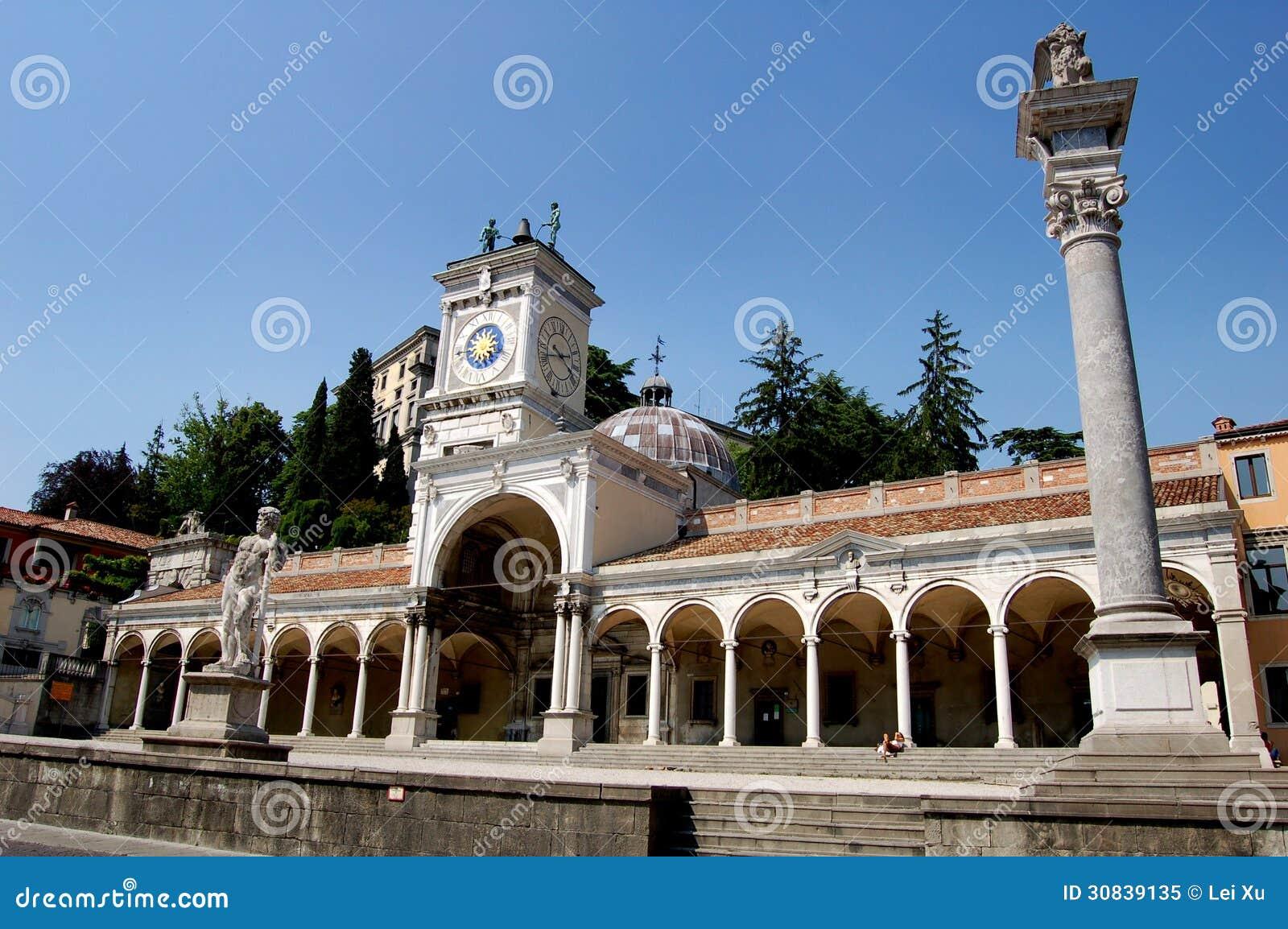 Udine Italy  city photos : Udine, Italy: Loggia Di San Giovanni Editorial Image Image: 30839135