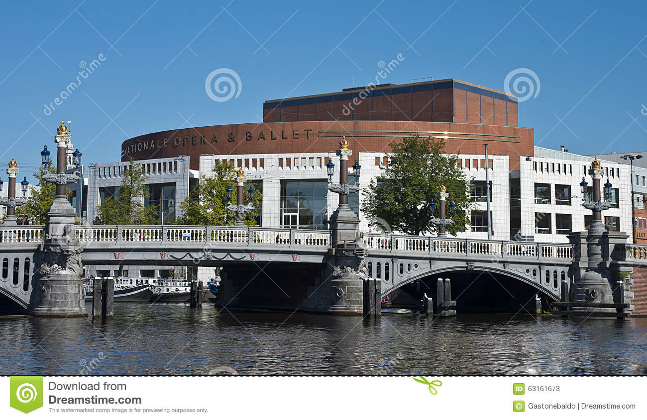 Dutch National Opera and Ballet, Amsterdam, Netherlands