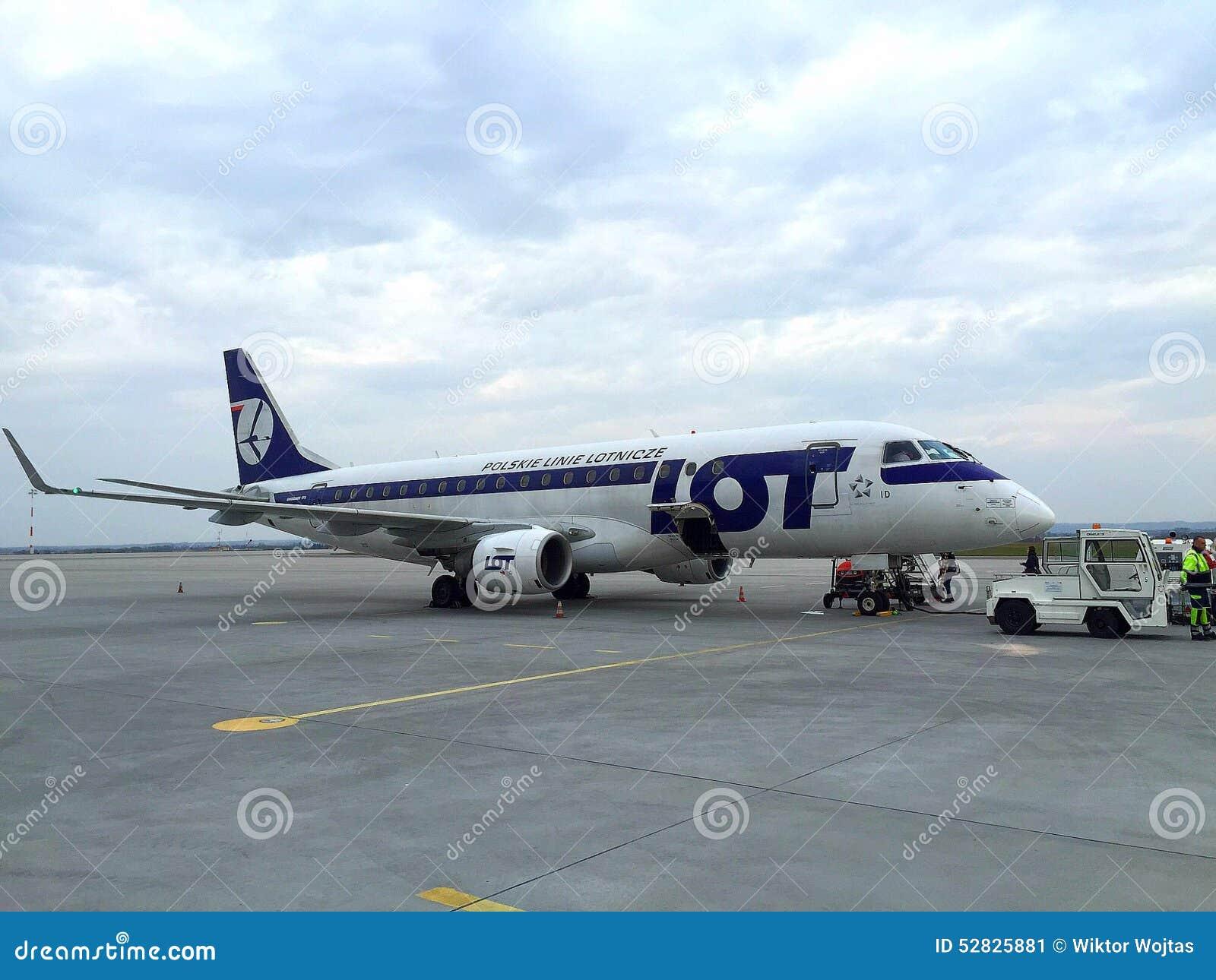Udział linii lotniczych Polski samolot