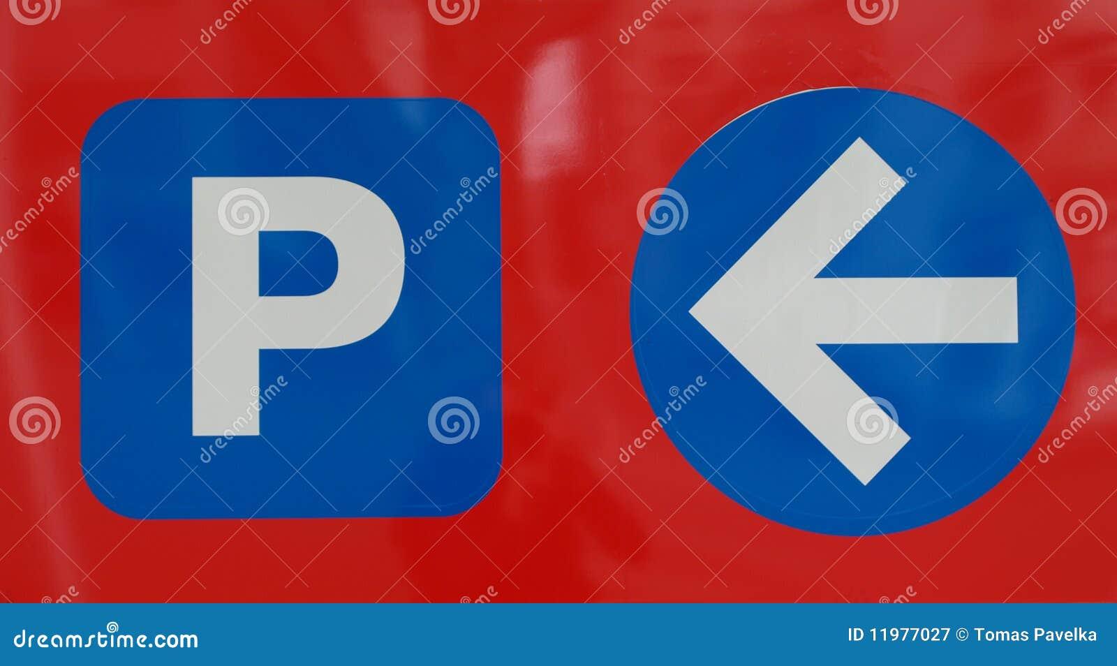 Udziału parking znak