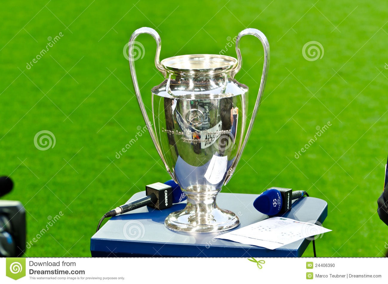 Champions Image: UEFA Champions League Cup 2012 Editorial Image