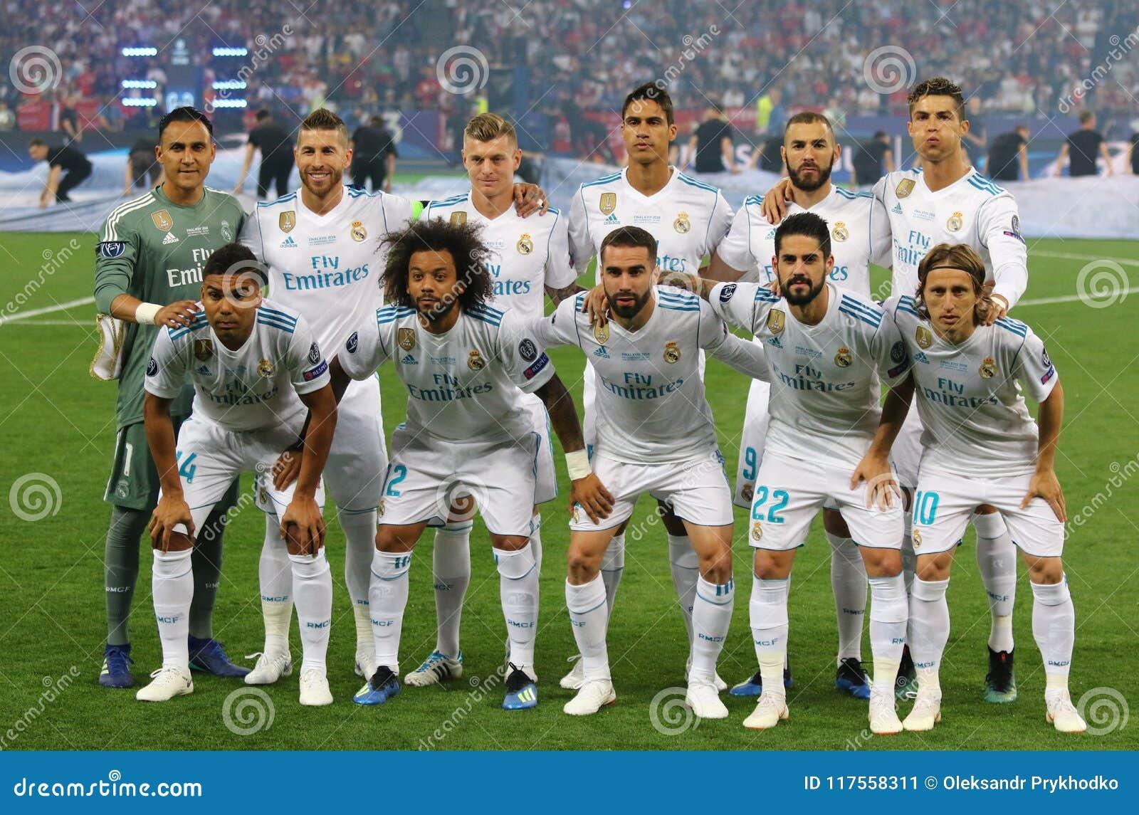 Uefa Champions League Final 2018 Real Madrid V Liverpool Kiev