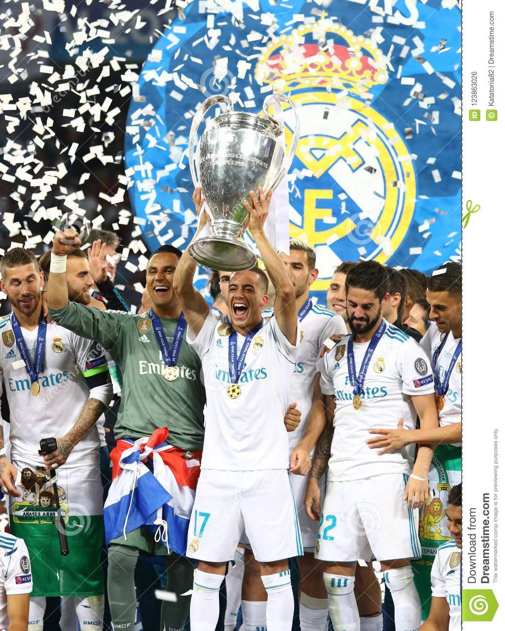 2018 Real Madrid Champions League