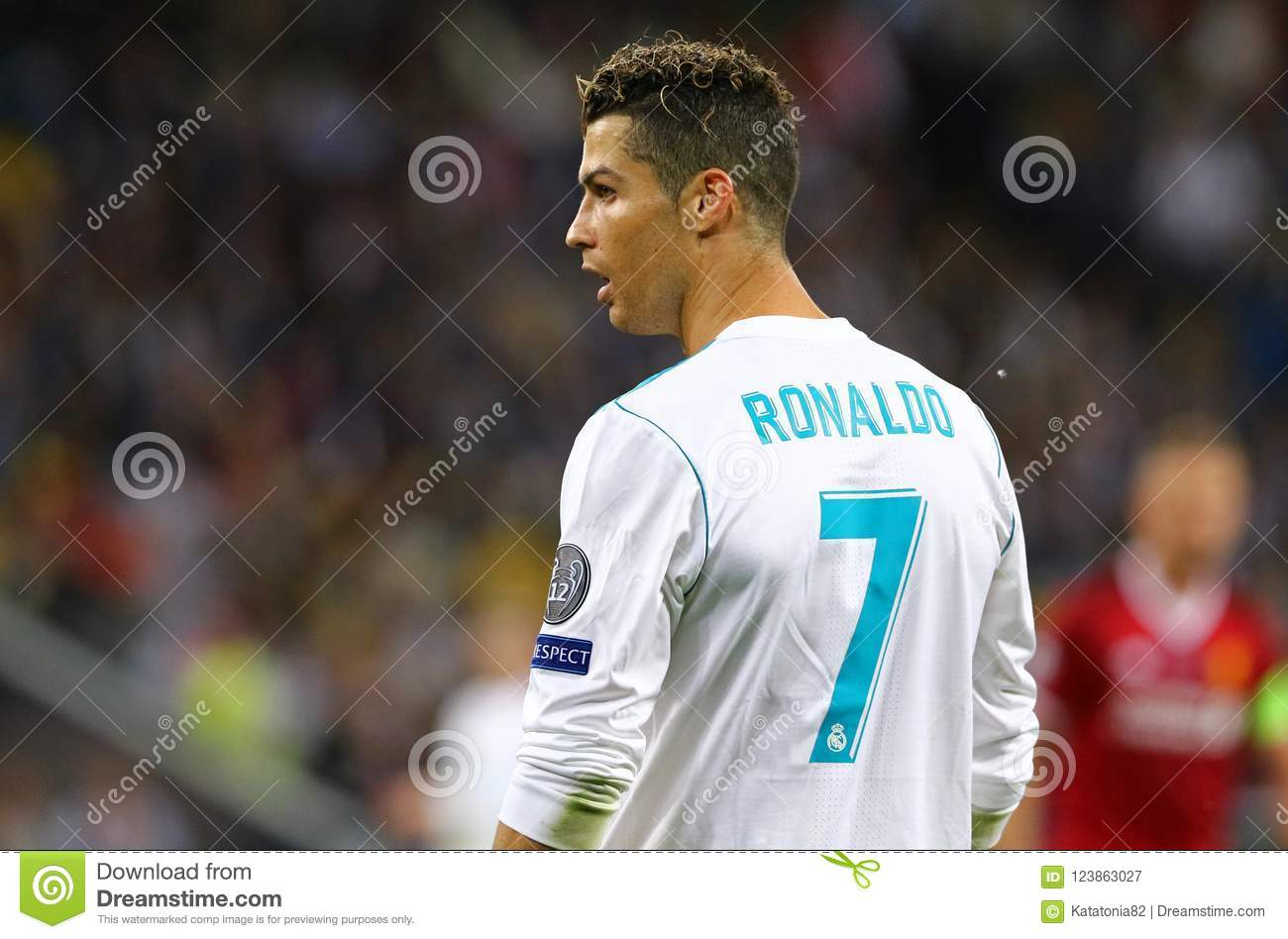 UEFA Champions League Final 2018 Real Madrid V Liverpool Editorial  Photography - Image of forward, game: 123863027