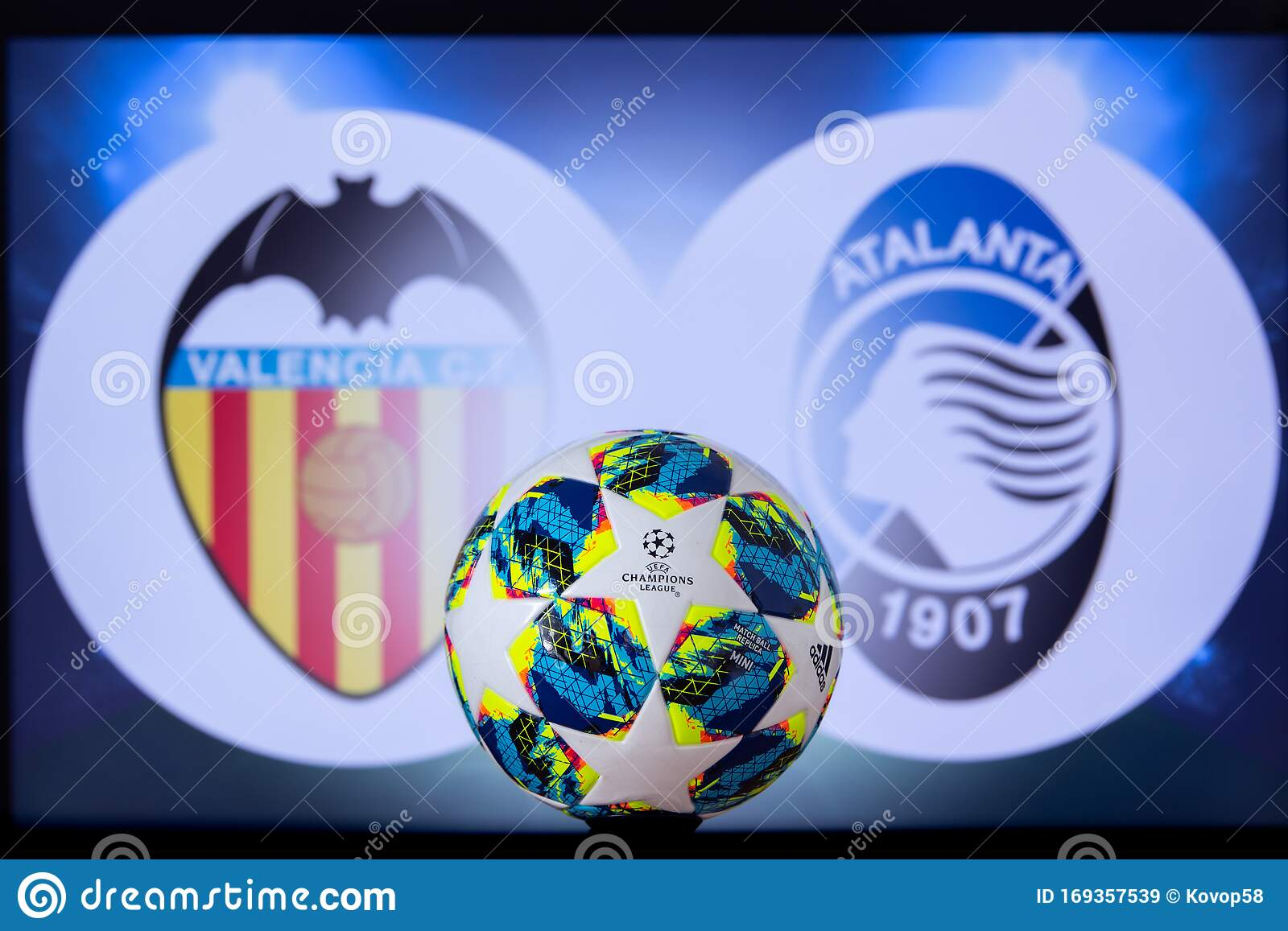 uefa champions league 2020 round of 16 ucl football knockout stage playoff official adidas soccer ball 2020 editorial stock image image of logo design 169357539 dreamstime com