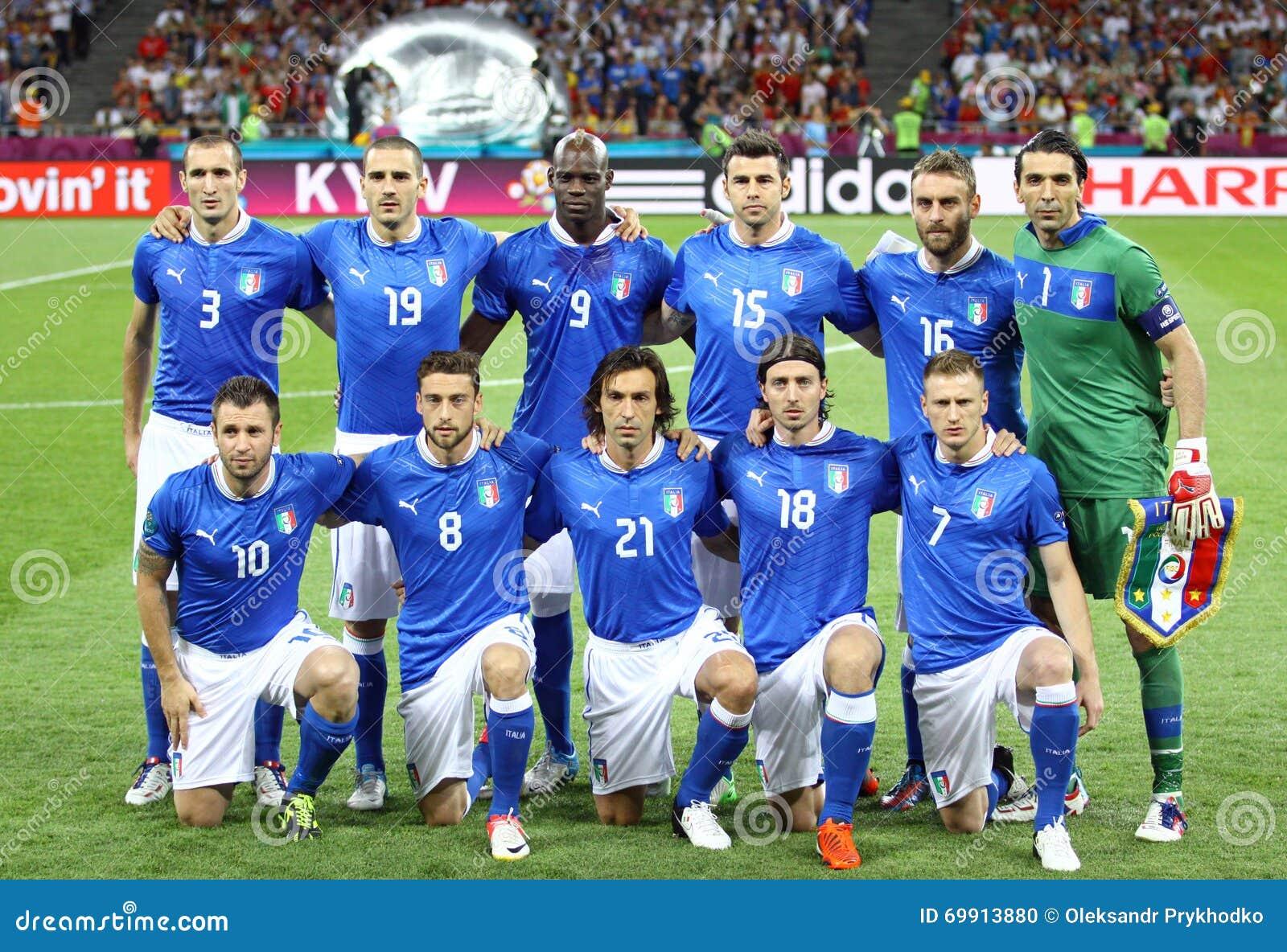 UEFA-EURO Endspiel 2012 Spanien gegen Italien