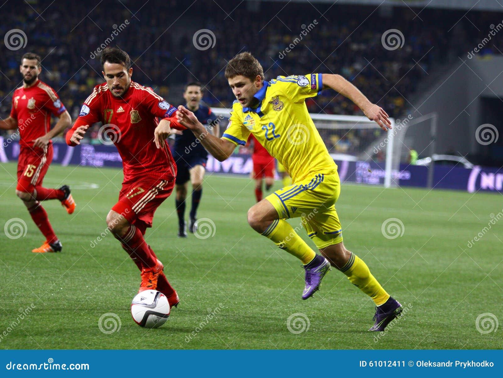 Ukraine Spanien