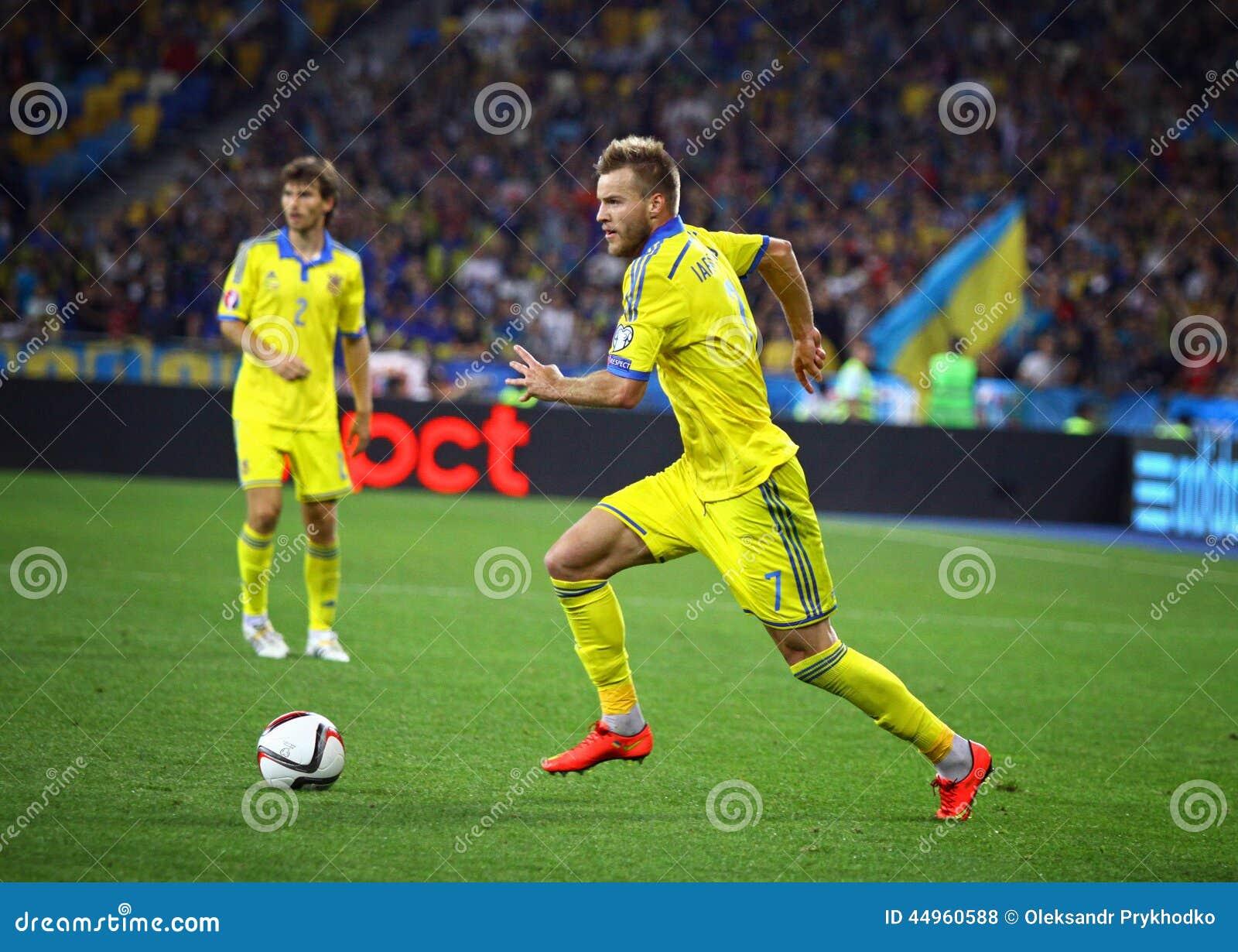 Andriy Yarmolenko Editorial Stock Image Image