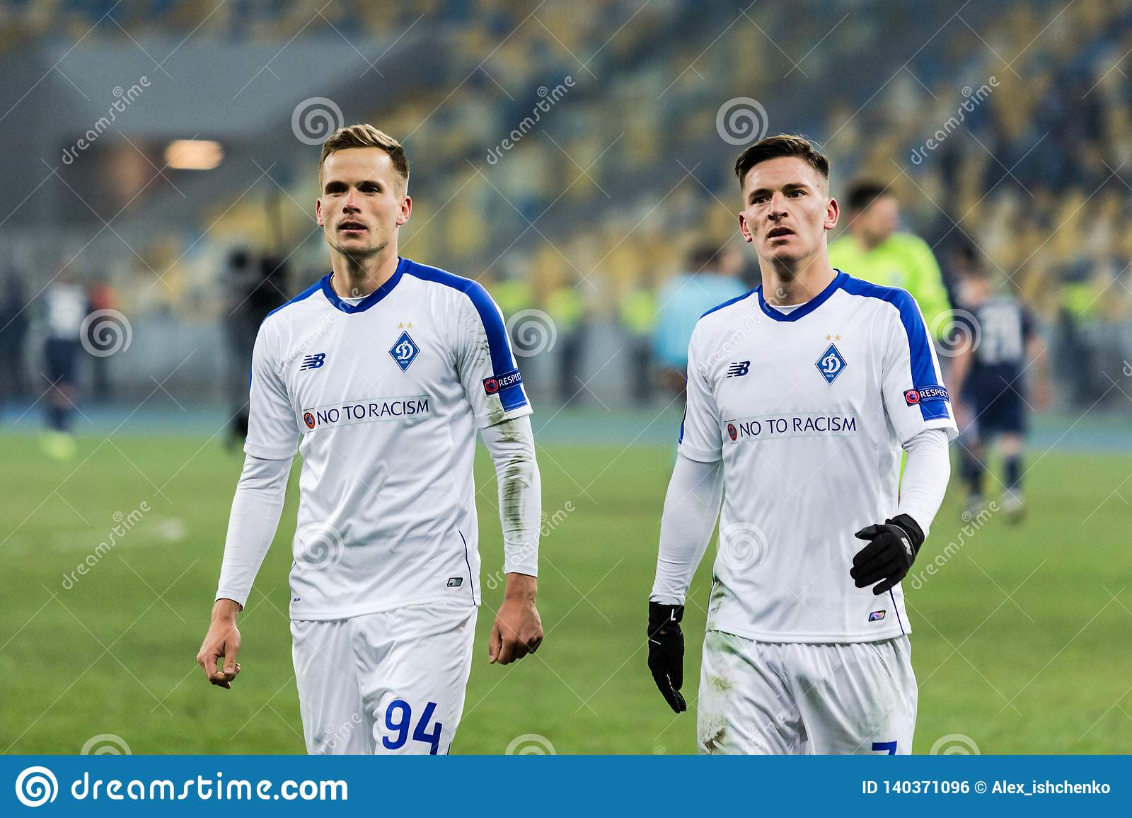 UEFA Europa League football match Dynamo Kyiv – Olympiakos FC, February 22, 2019