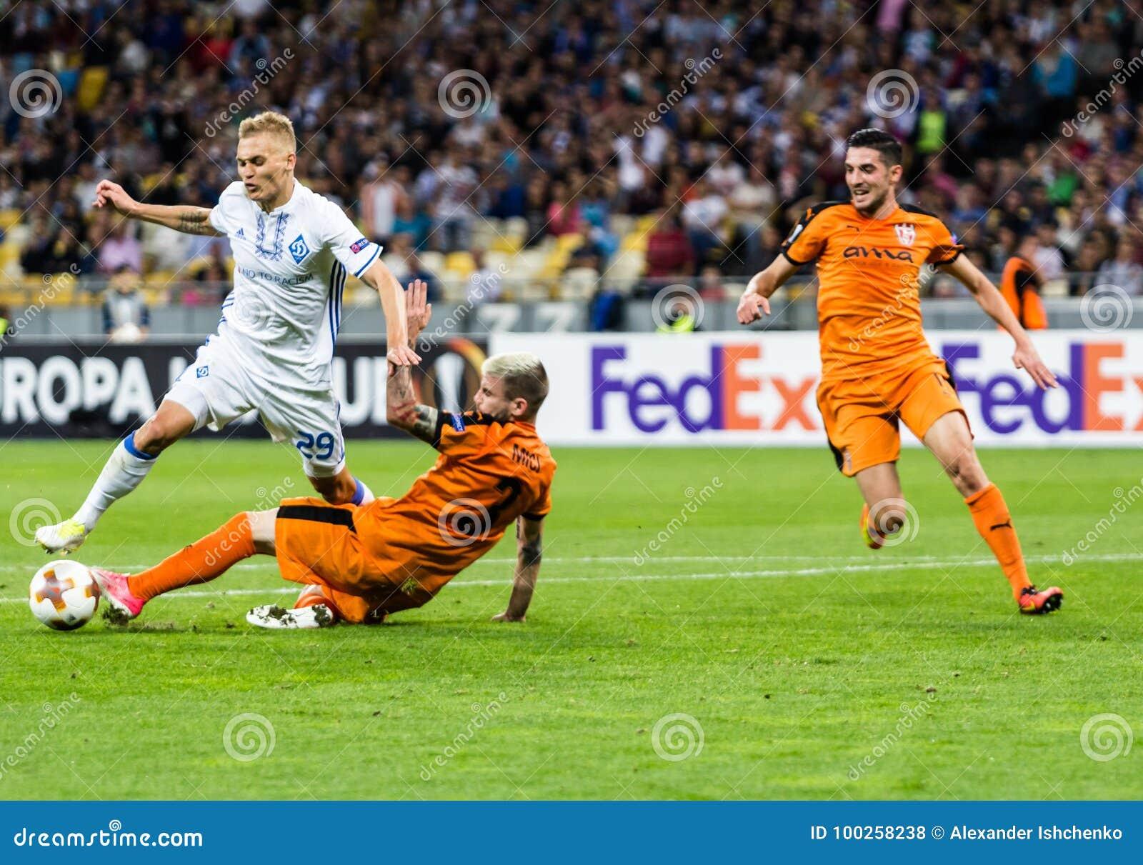 UEFA Europa League football match Dynamo Kyiv – Skenderbeu, Se