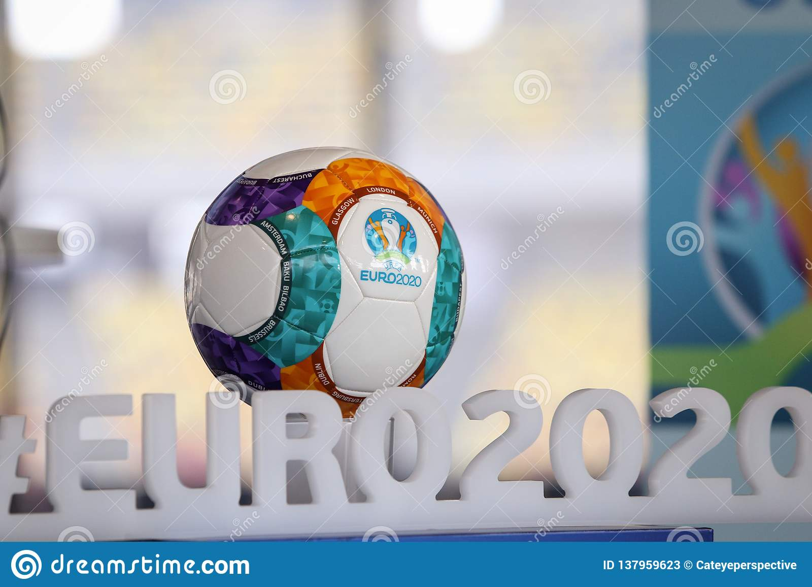 the 2020 uefa european football championship 2020 logo and official ball editorial stock photo image of details kick 137959623 https www dreamstime com uefa european football championship logo official ball bucharest romania january commonly referred to as euro image137959623