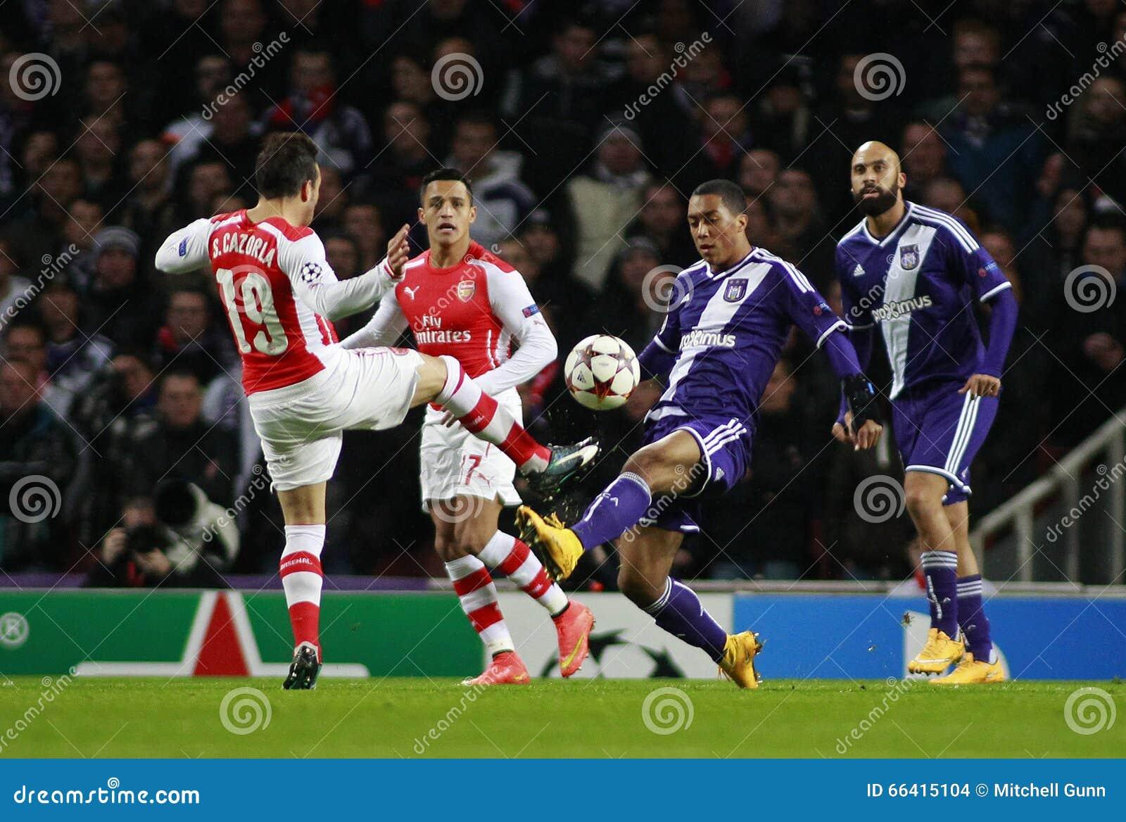 UEFA verdedigt Ligaarsenaal v Anderlecht