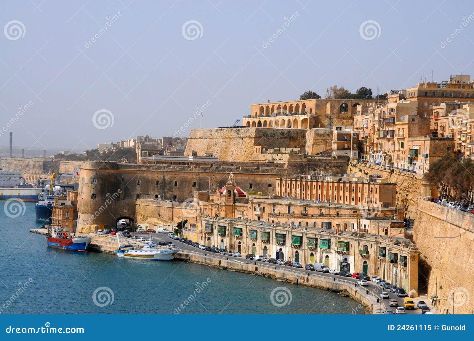 Ufergegend von Malta