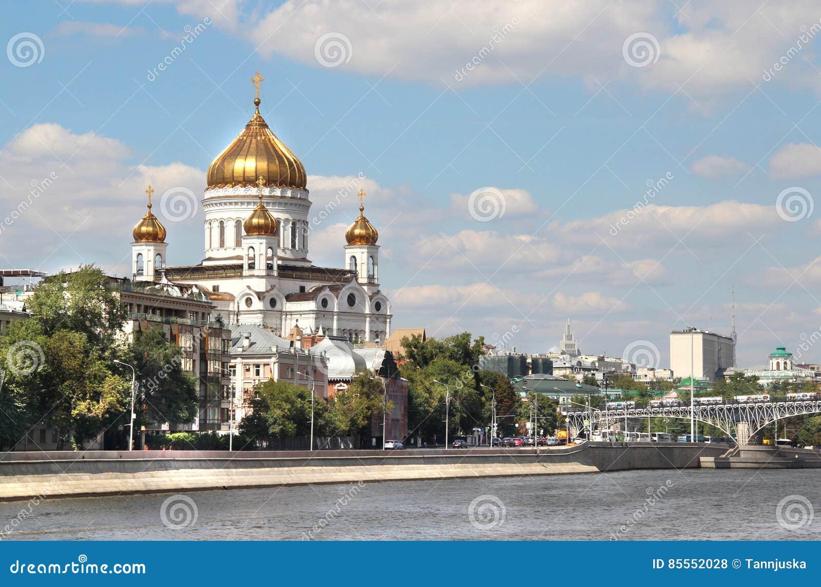 Ufergegend von Moskau-Stadt