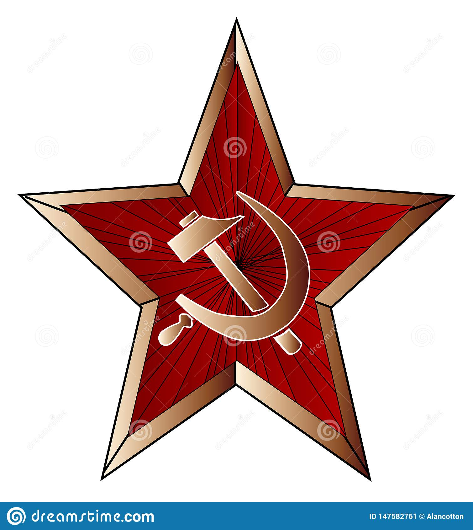 Ufficiale sovietico Metal Cap Insignia