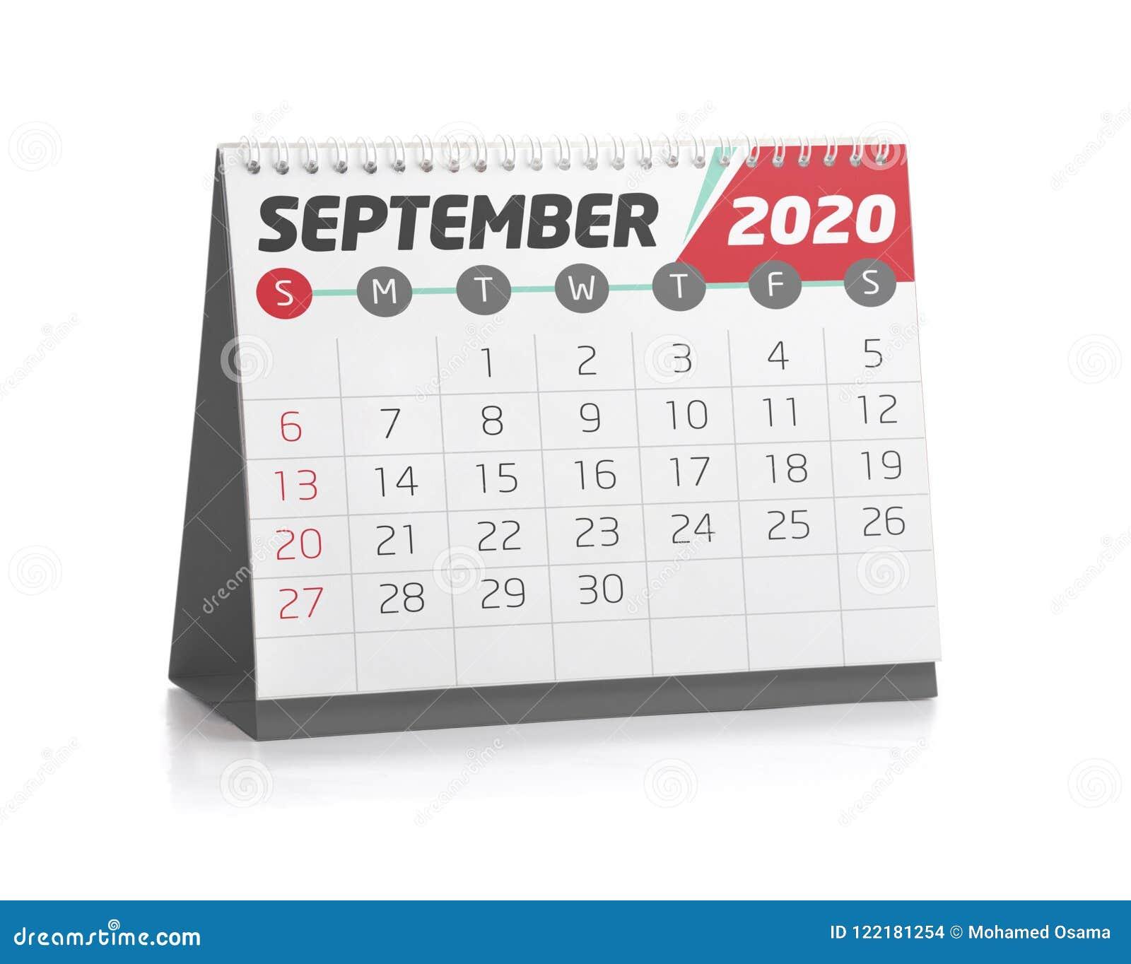 Calendario Sfilate Settembre 2020.Calendario Di Settembre 2020 Calendario 2020