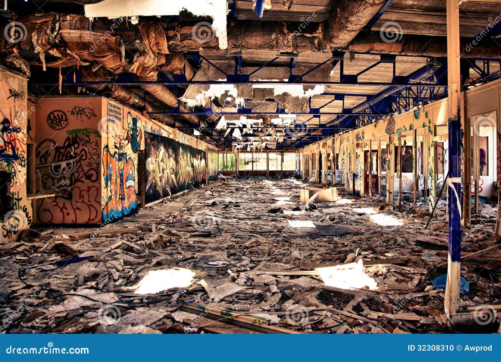 Ufficio devastante