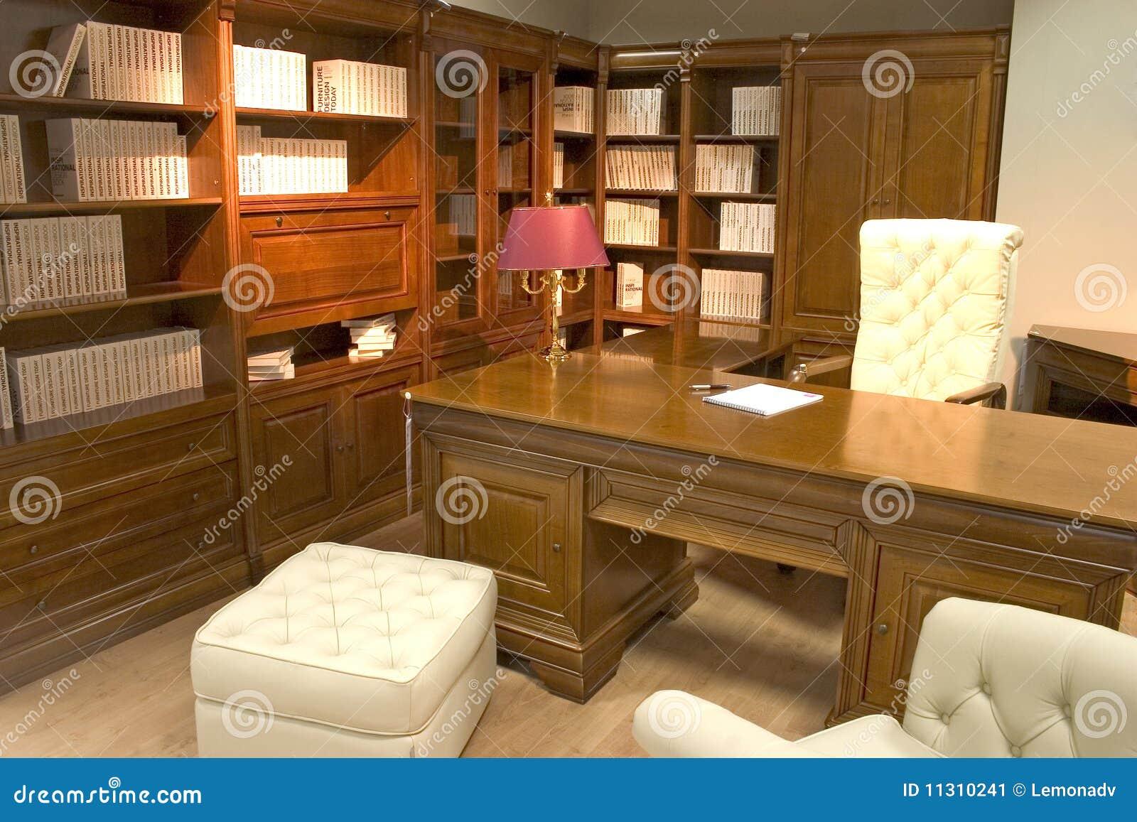 Ufficio lussuoso immagine stock immagine 11310241 for Ufficio presidenza