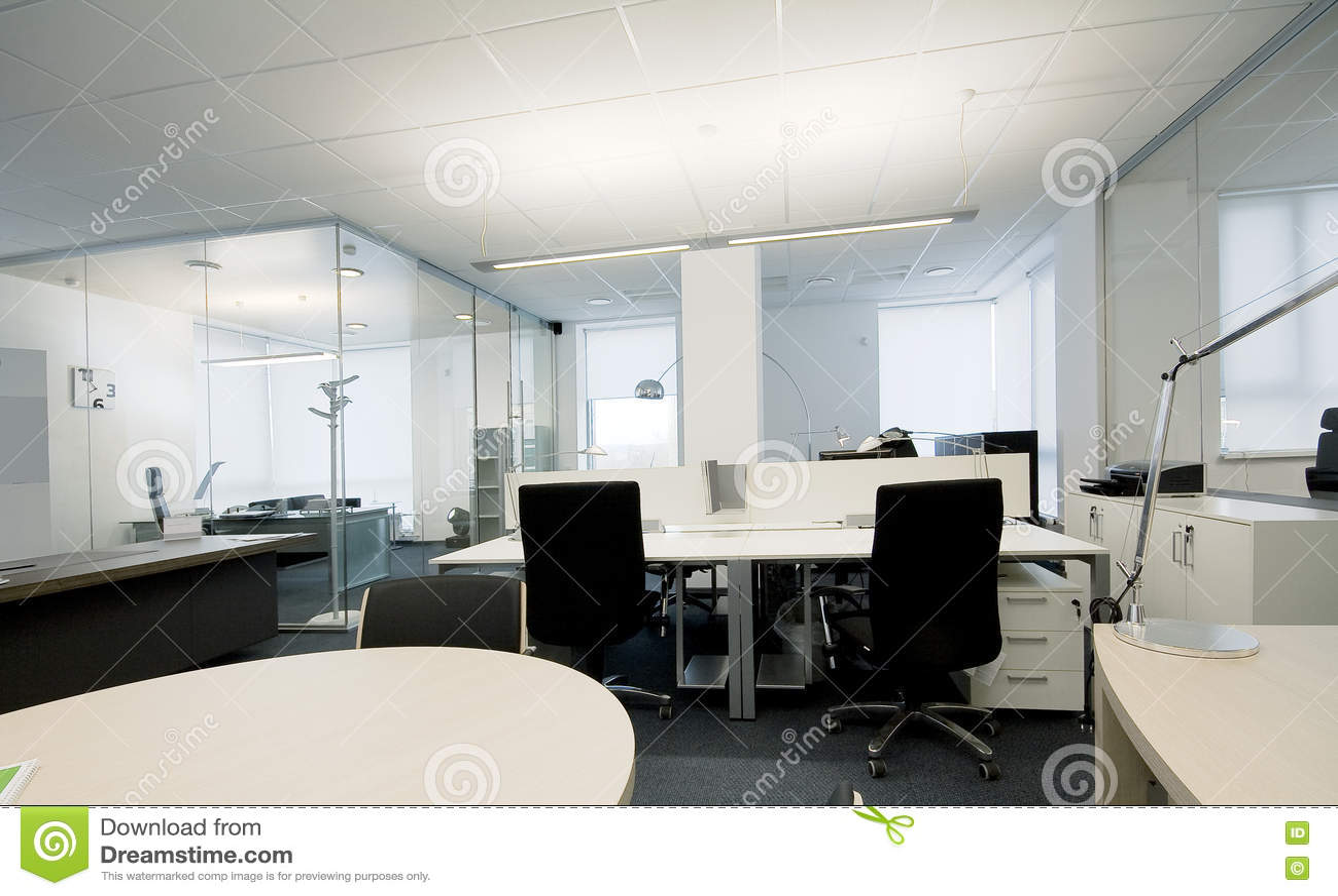 Foto Ufficio Moderno : Ufficio moderno immagine stock. immagine di vuoto poltrona 10558031