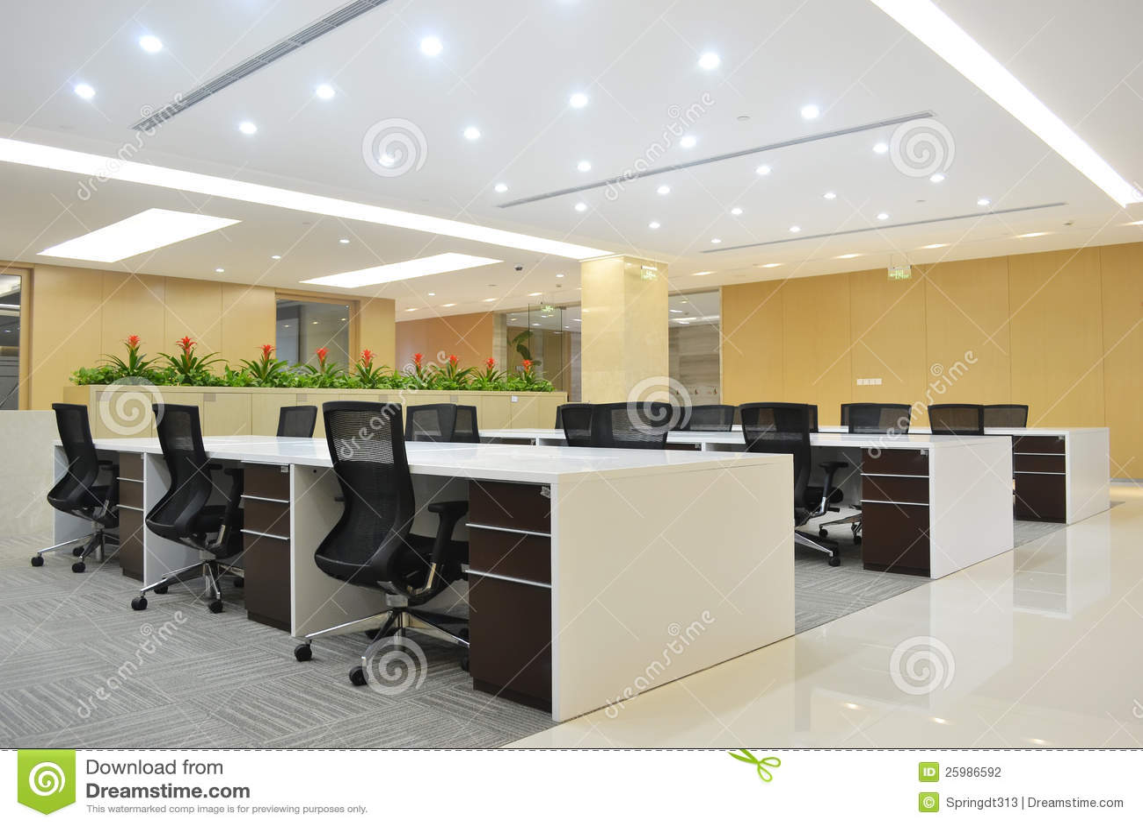 Foto Ufficio Moderno : Ufficio moderno fotografia stock. immagine di spazio 25986592