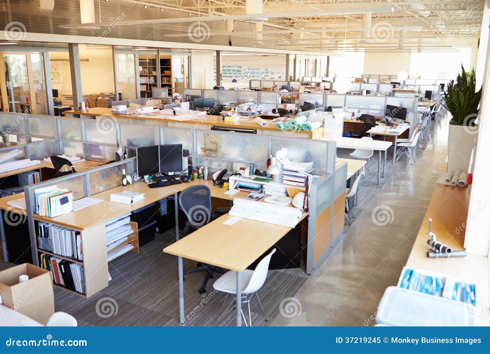 Ufficio Open Space Moderno Vuoto Immagine Stock Immagine