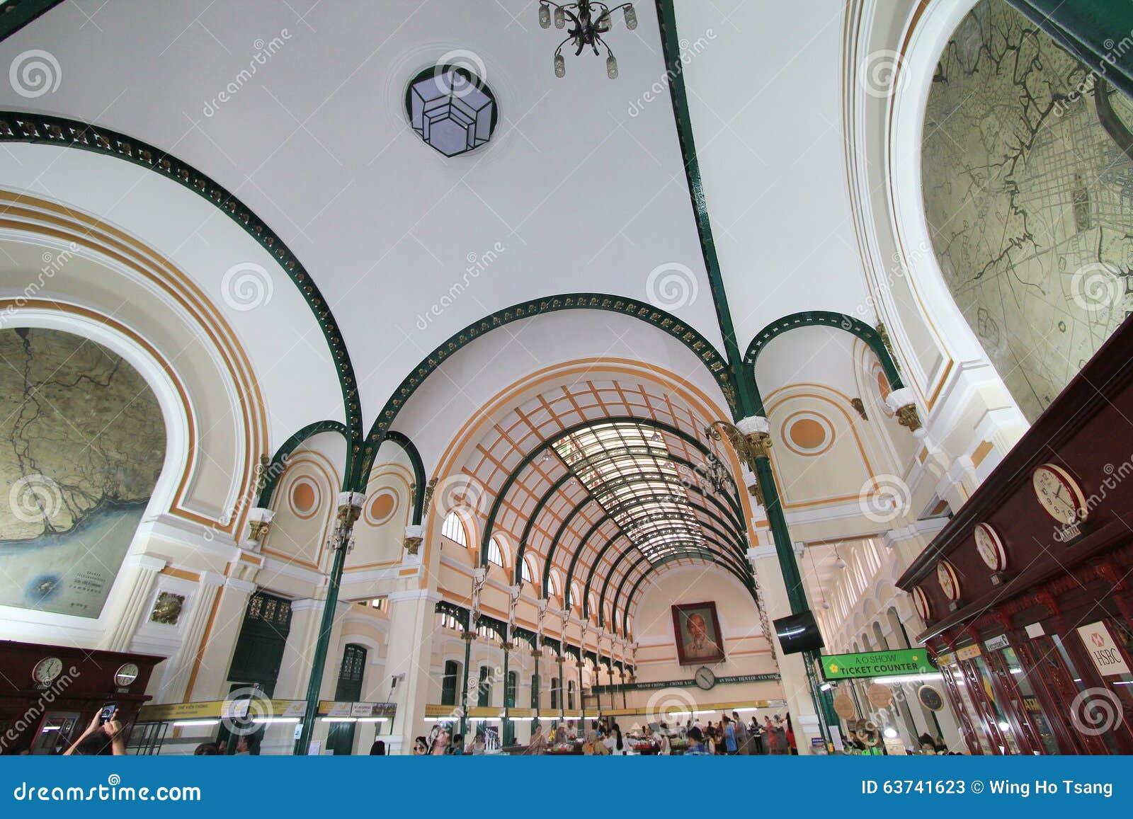 Ufficio Postale Del Vietnam Ho Chi Minh City Central