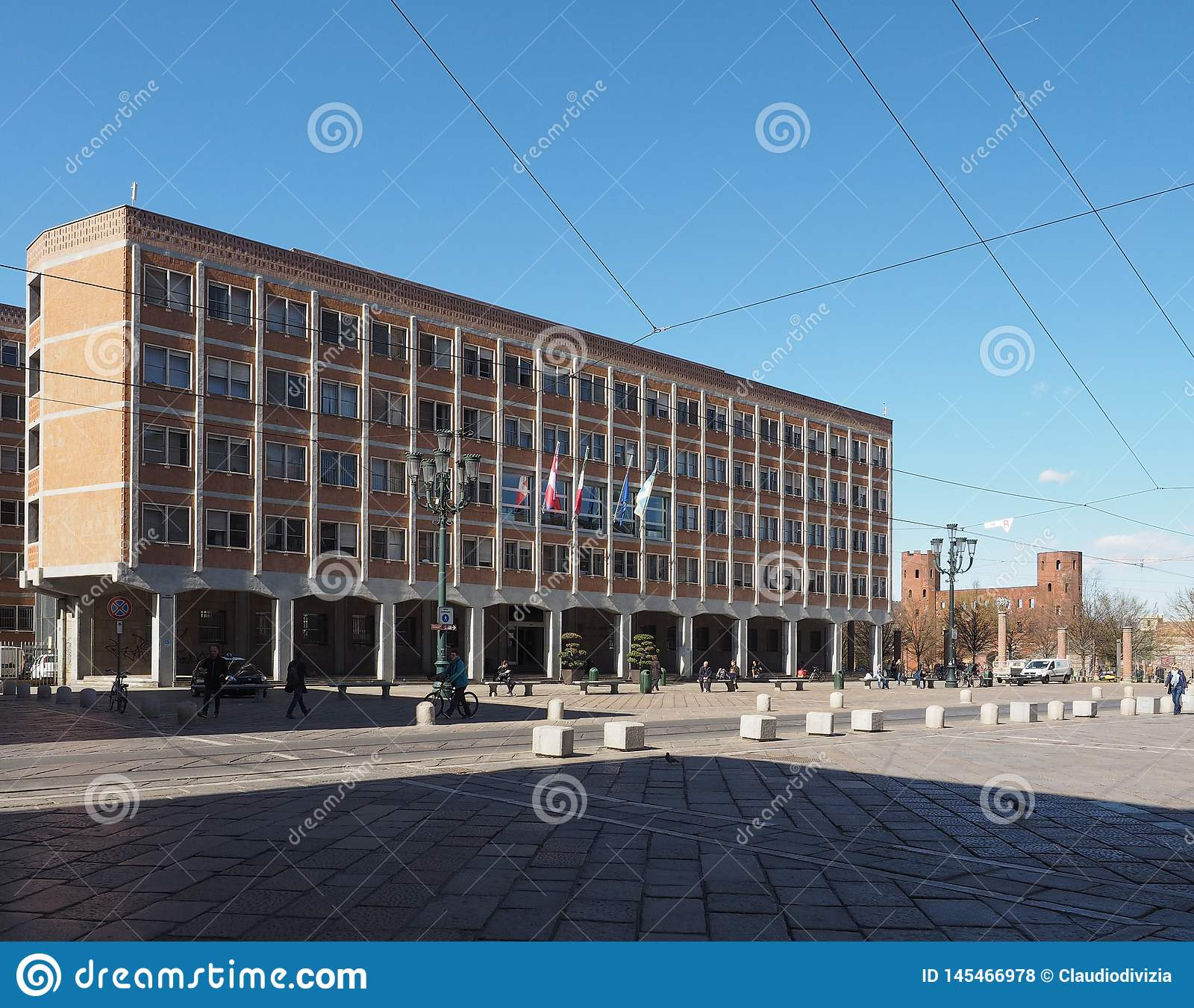 Ufficitecnici (gemeentelijke technische bureaus) in Turijn