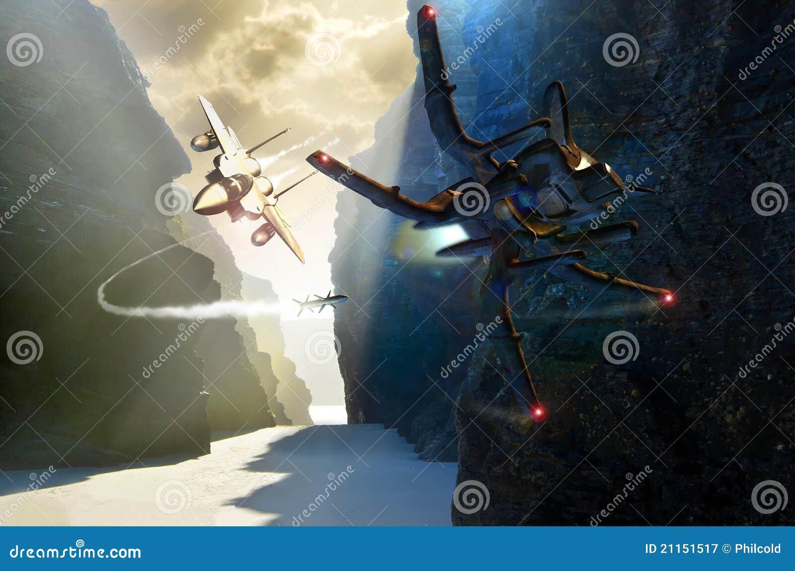 Ufo μαχητών αγώνα