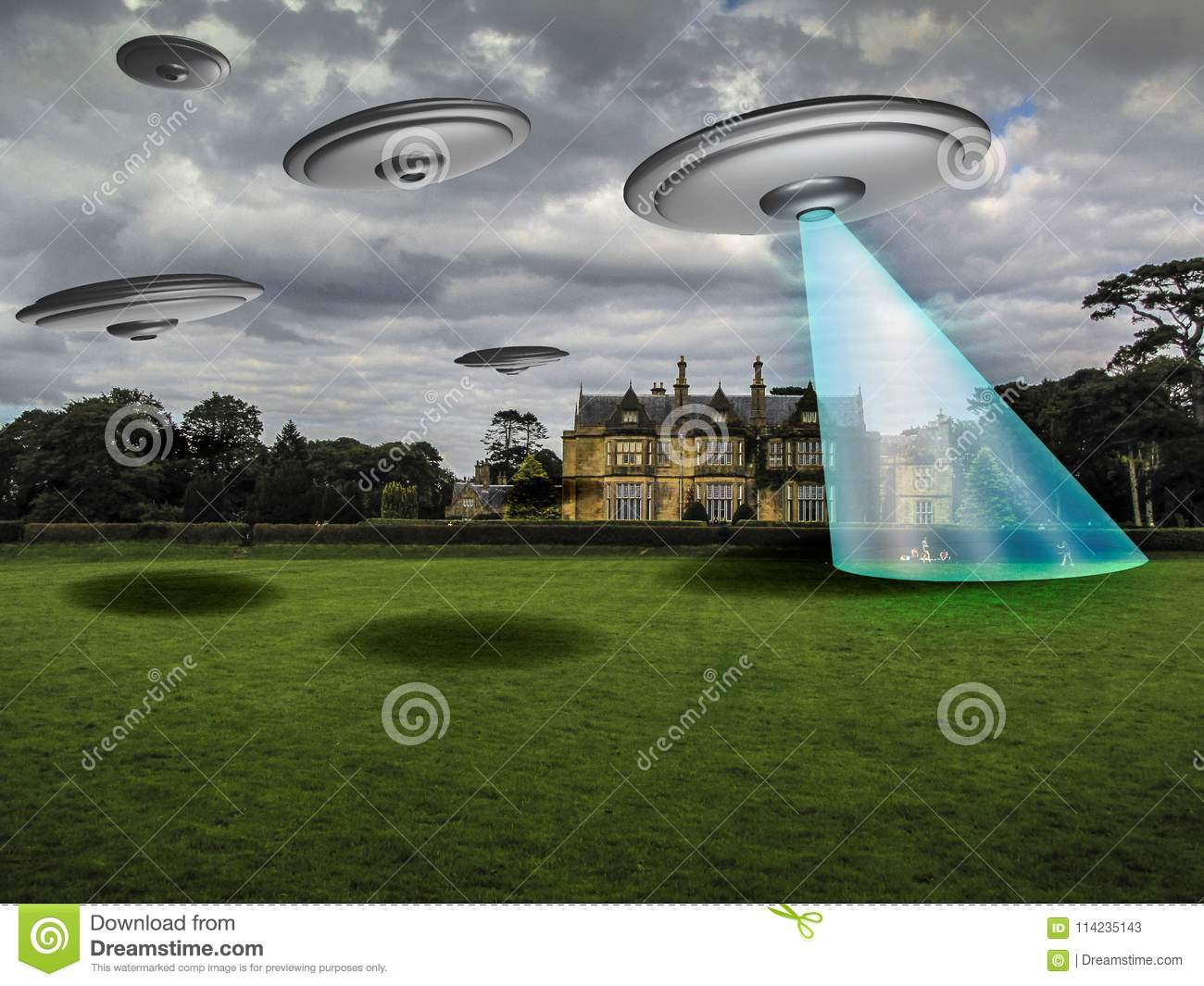 UFO: alien invasion and abduction