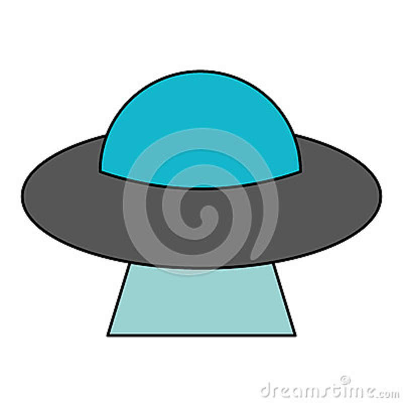 Download UFO aliens saucer space stock illustration. Illustration of abduction - 89231516