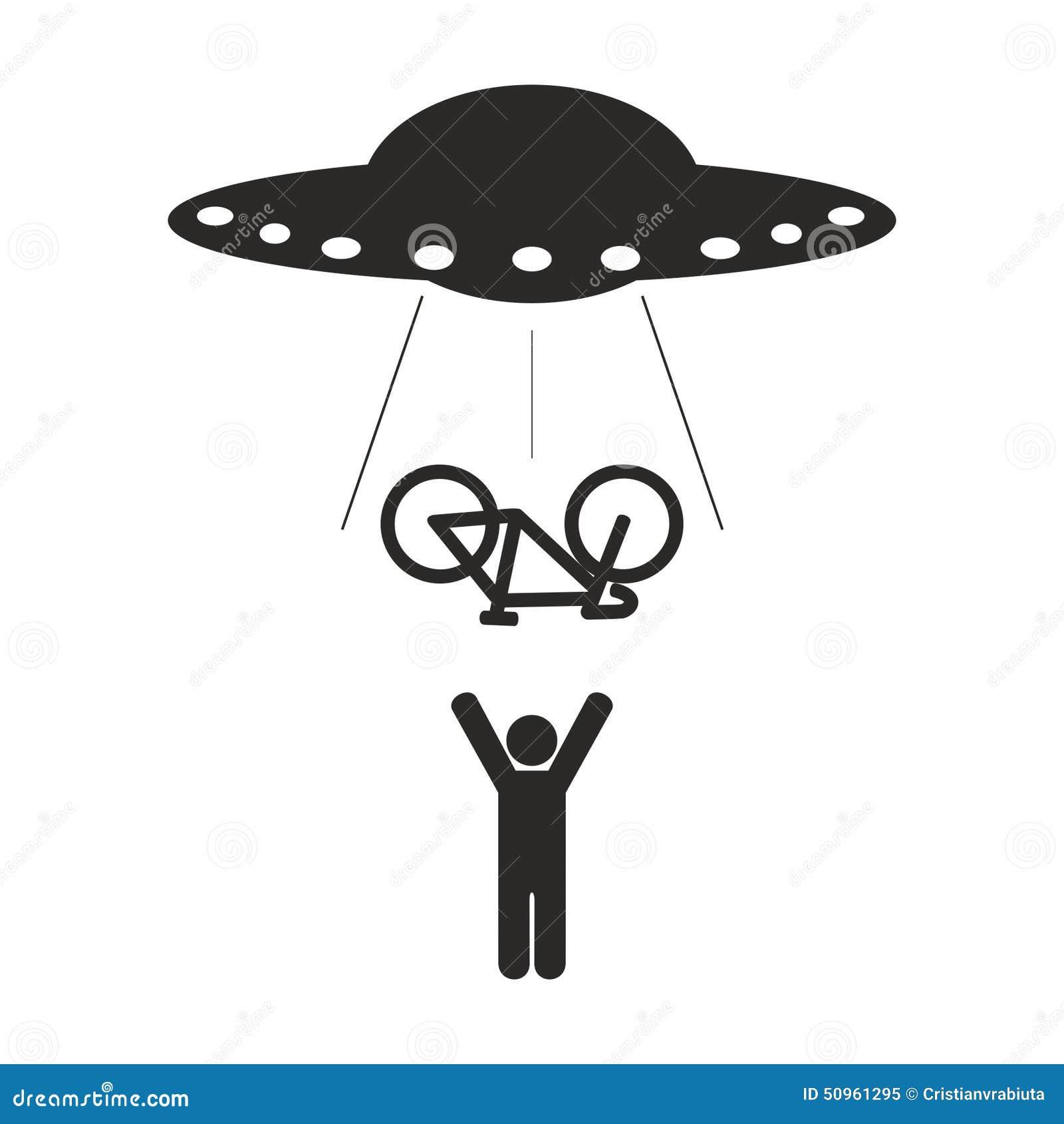 ufo bike abduction stock vector image 50961295 Yin Yang Logo Yin Yang Vector Rough