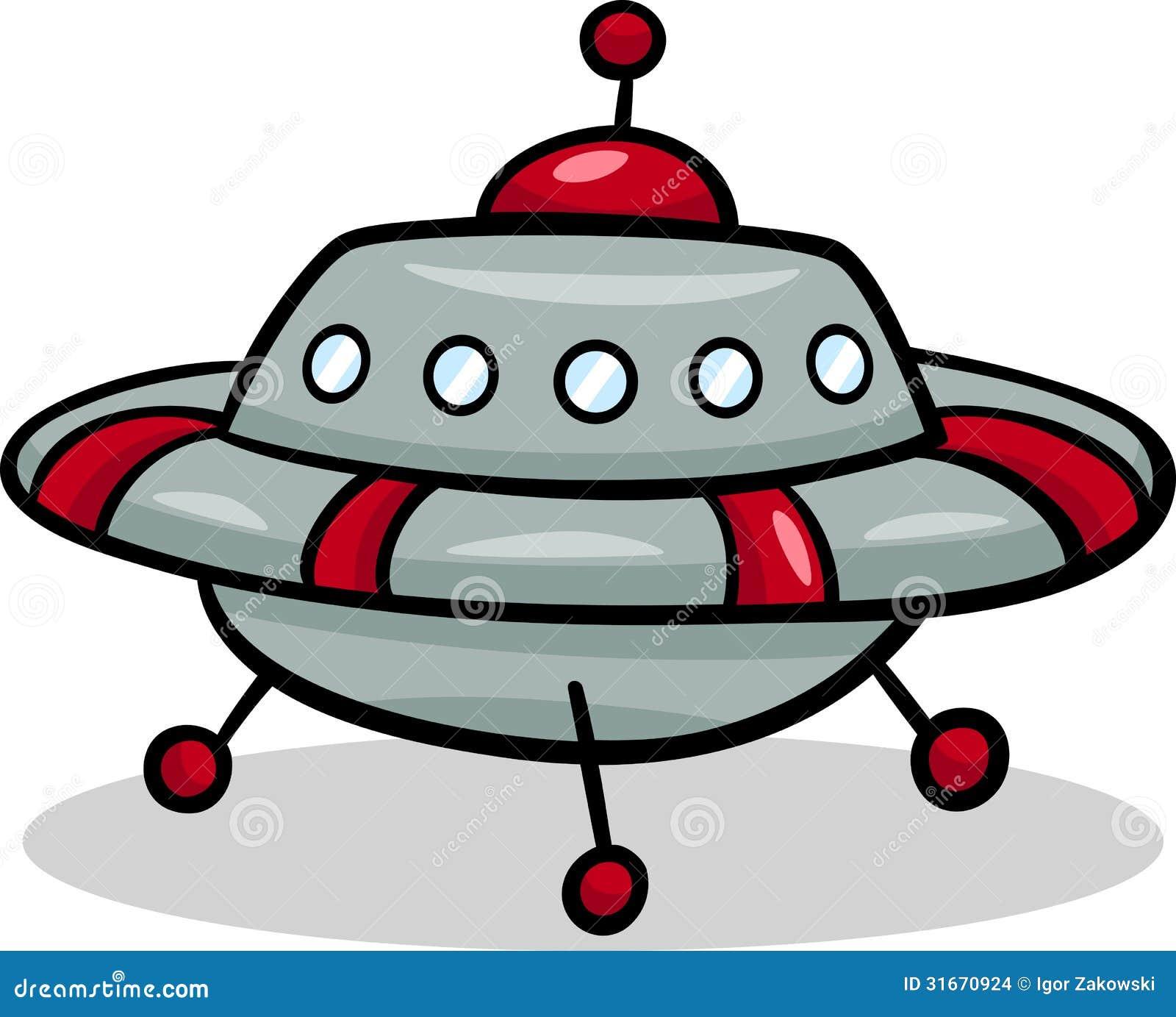 Alien Spaceship Clipart Free