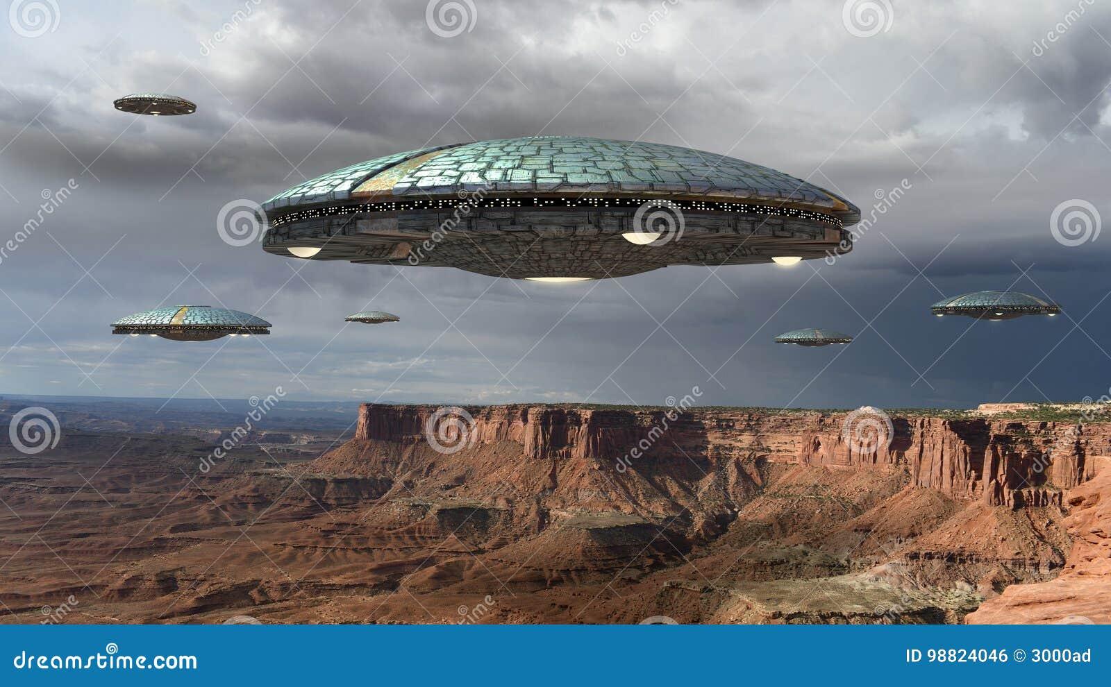 UFO inwazja nad Uroczystym jarem