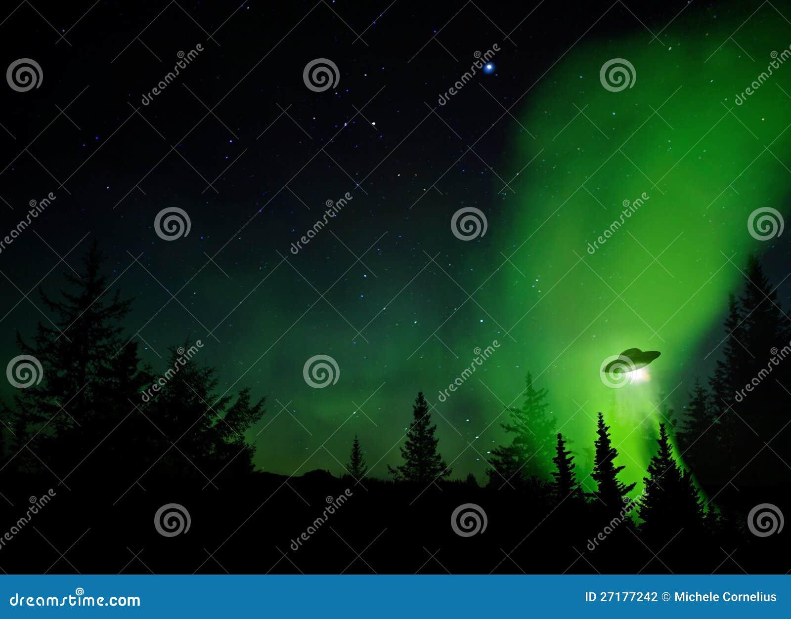 UFO-Landung
