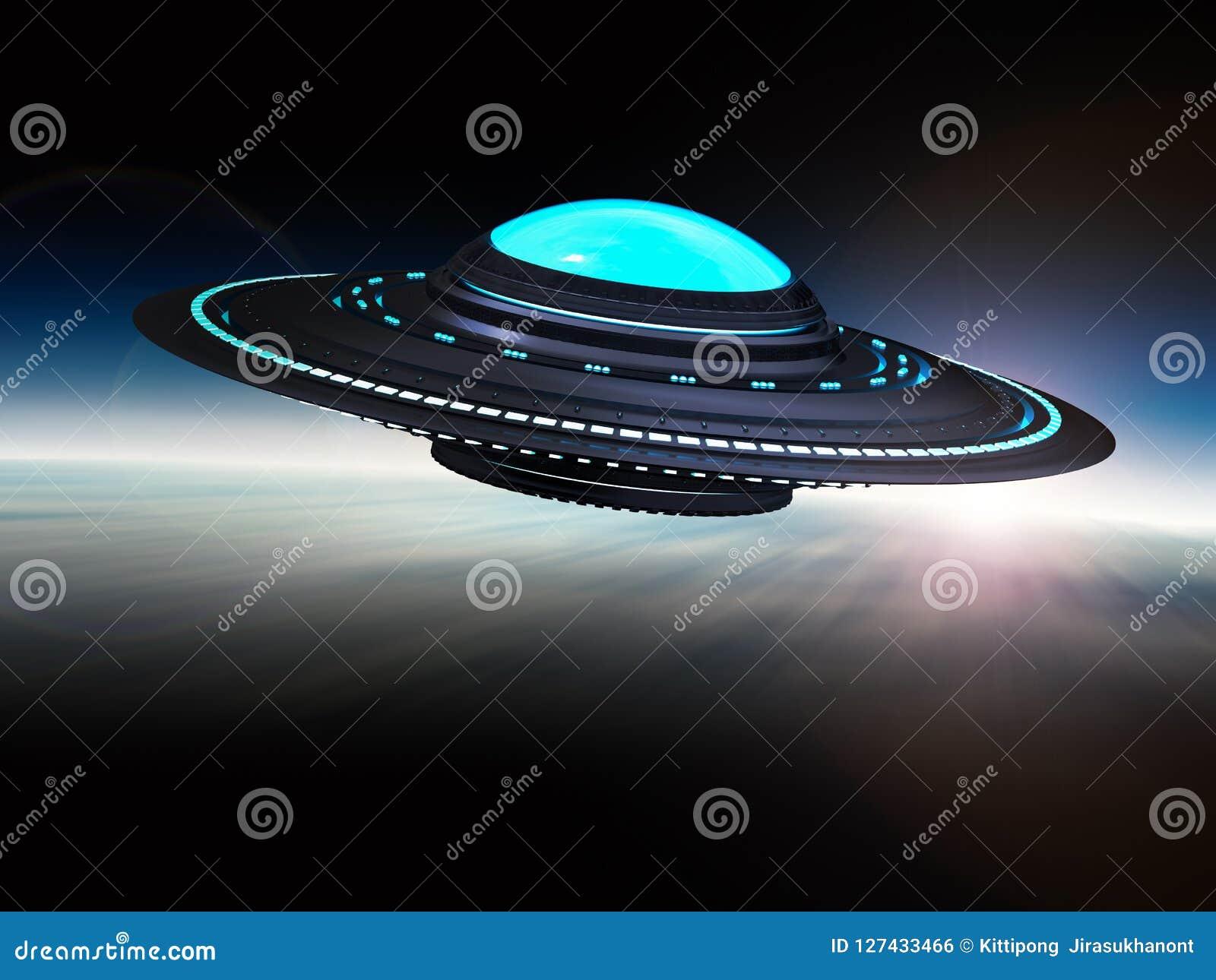 Ufo lub obcy statek kosmiczny