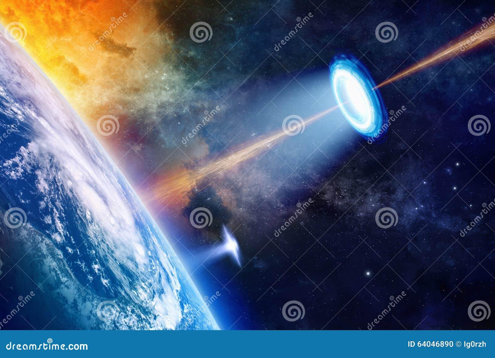 UFO planety pobliska ziemia