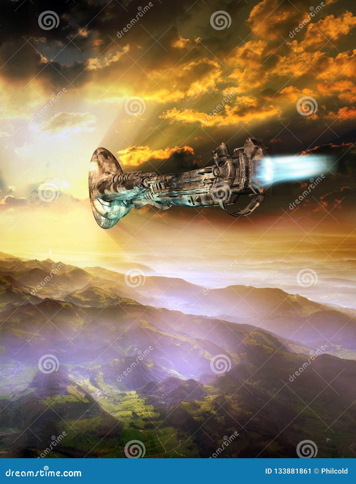 Ufoaankomst