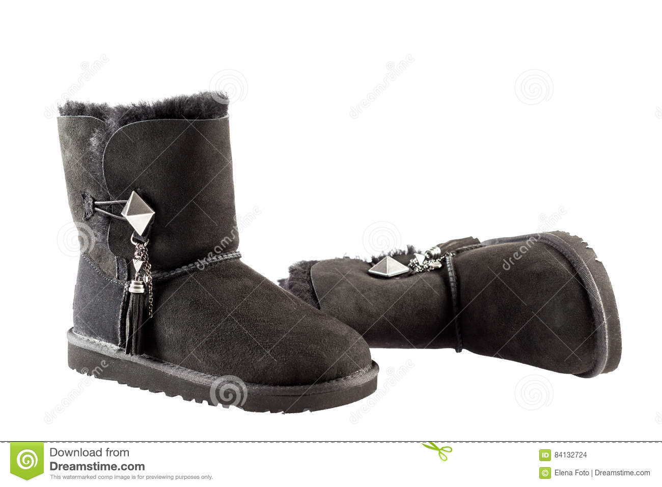UGG Lilou boots stock photo. Image of
